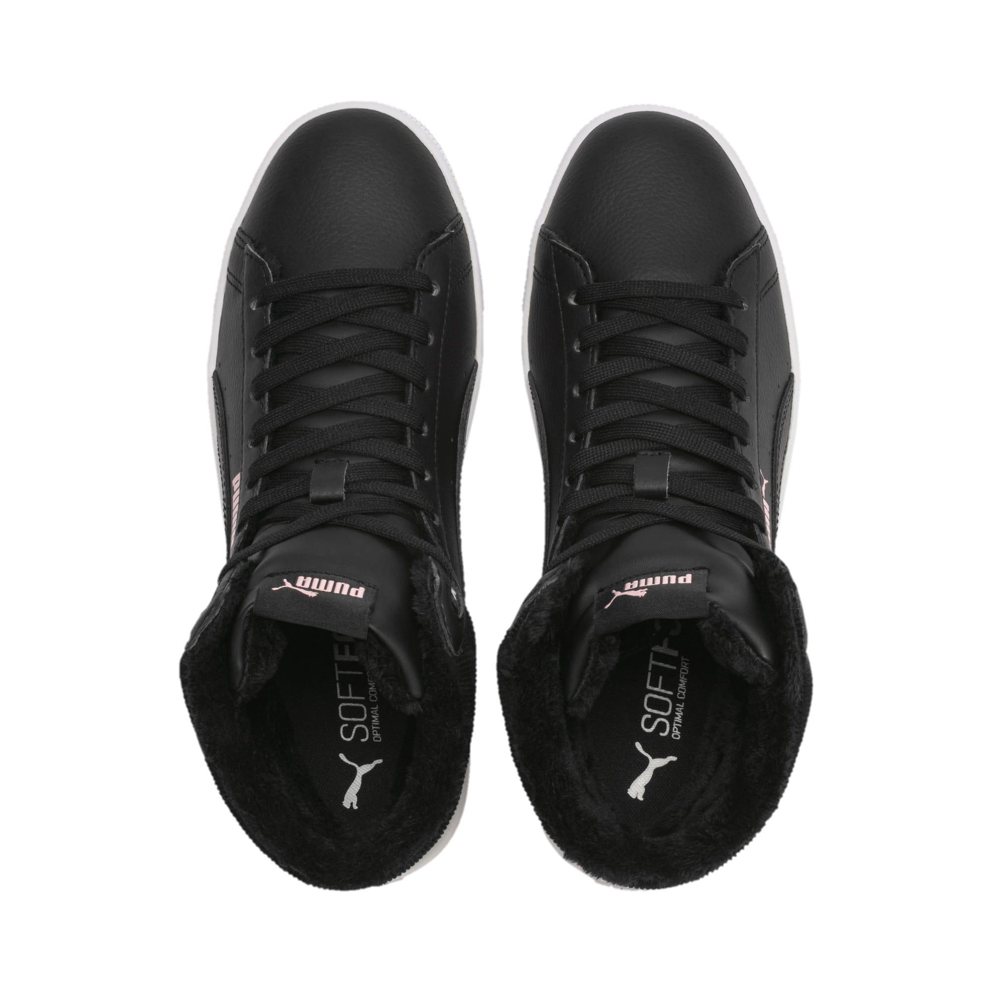 Thumbnail 7 of Vikky v2 mittelhoher Damen Winter Sneaker, Puma Black-Bridal Rose-White, medium