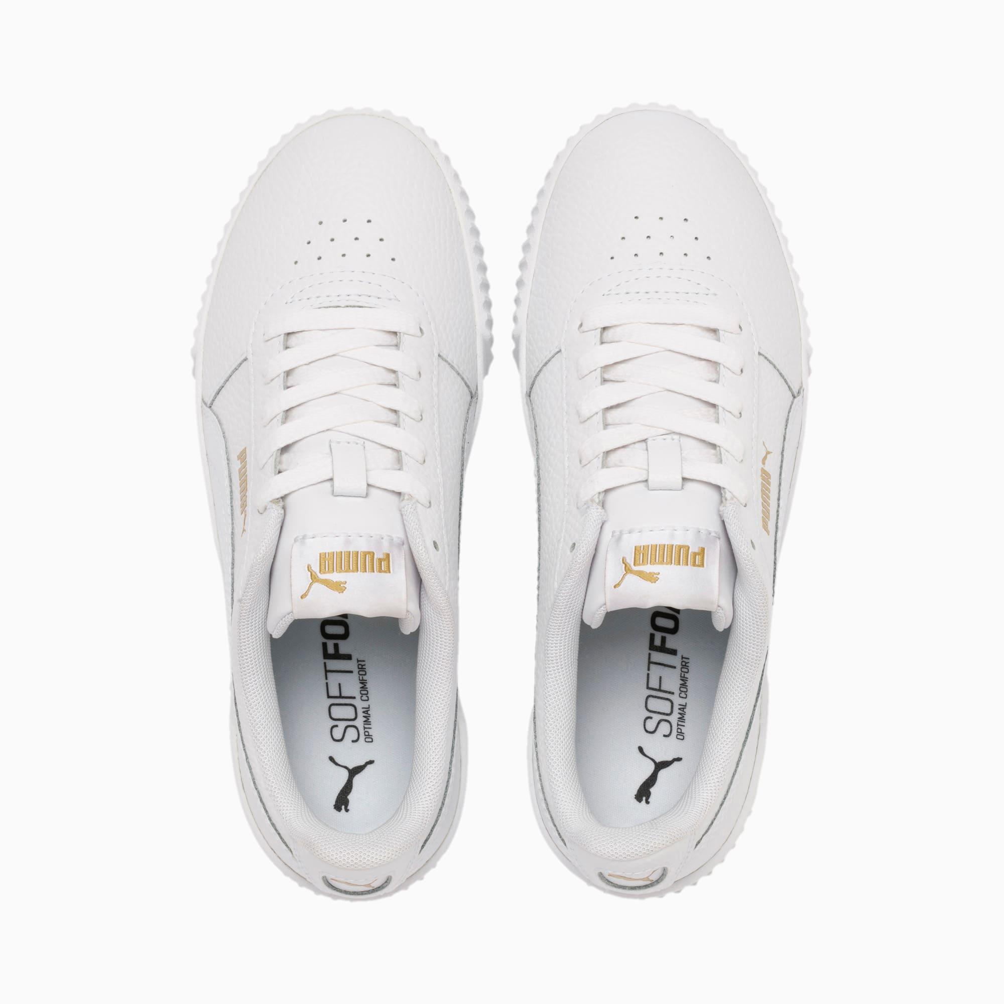 Carina Lux Damen Sneaker | Puma White Puma White | PUMA