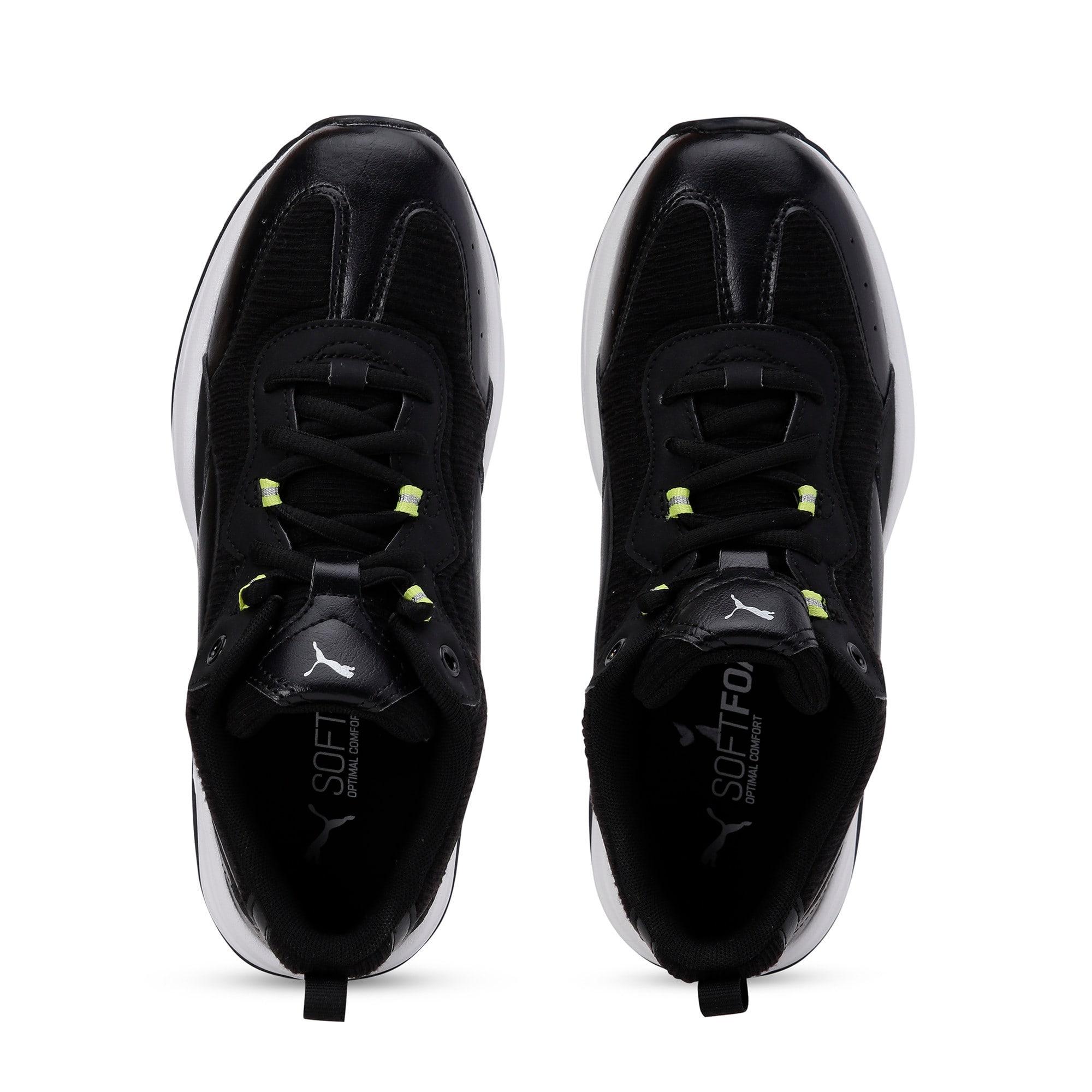Thumbnail 8 of Cilia Shift Women's Training Shoes, Black-Nrgy Yellow-Silver-Wht, medium-IND