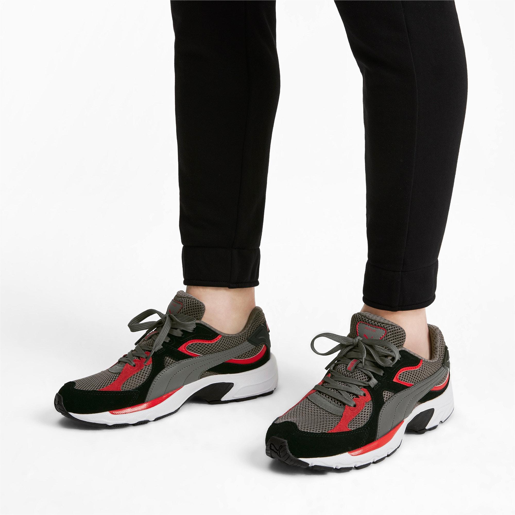 Thumbnail 2 of Axis Plus SD sneakers, CASTLEROCK-Black-Red-White, medium