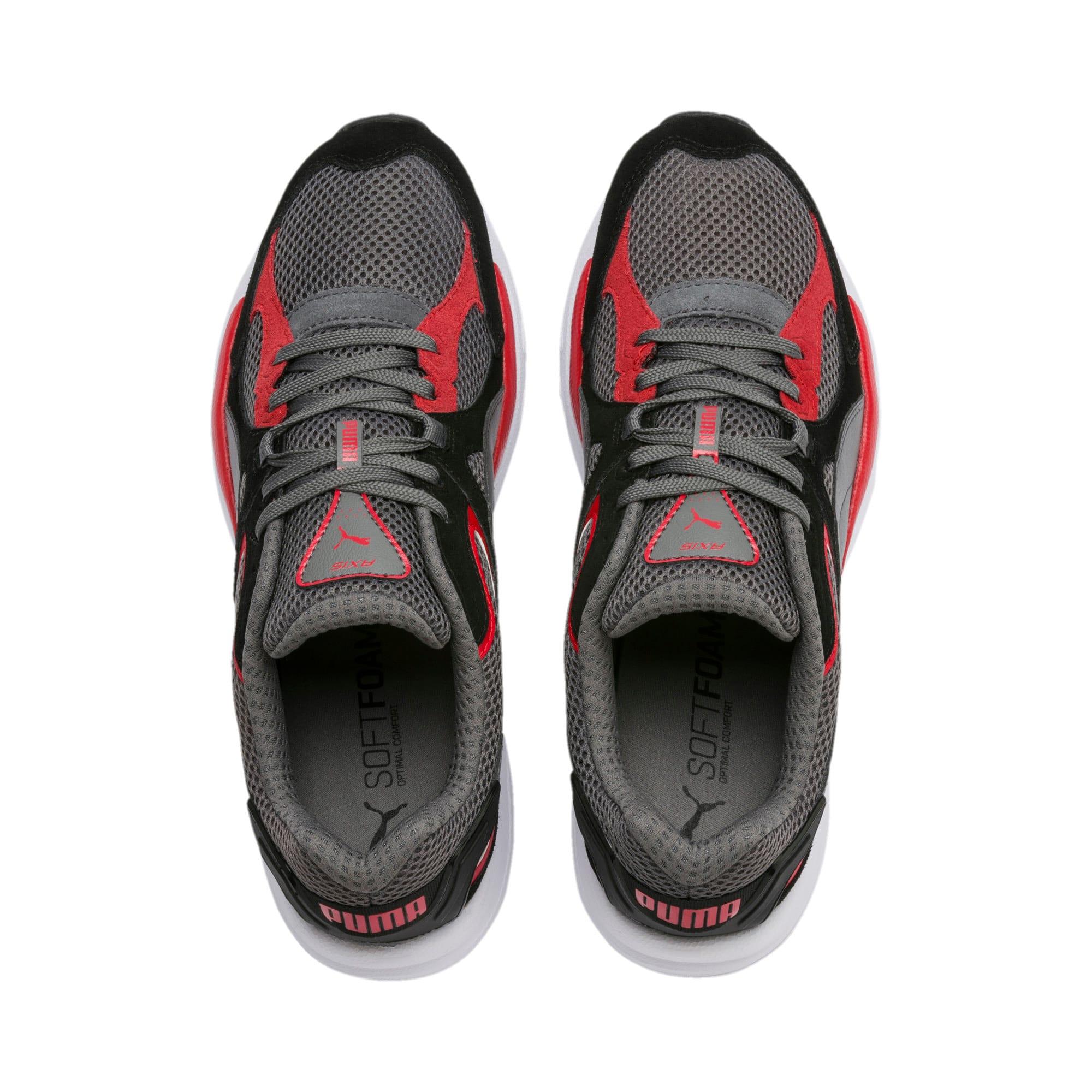 Thumbnail 7 of Axis Plus SD sneakers, CASTLEROCK-Black-Red-White, medium