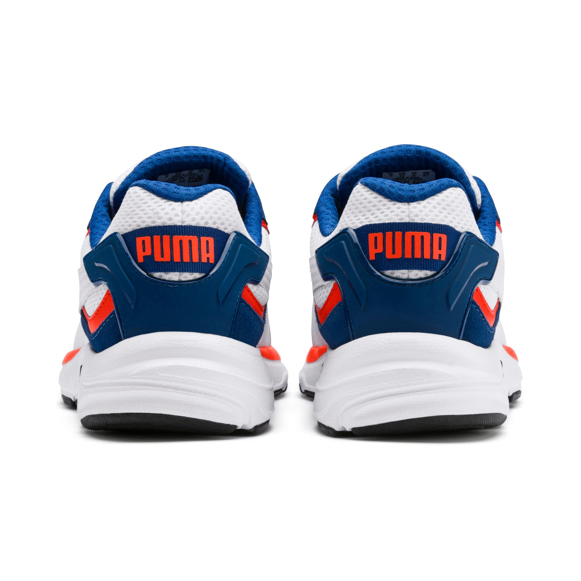 Thumbnail 5 of Axis Plus SD Trainers, White-G Blue-C Tomato-Black, medium-IND