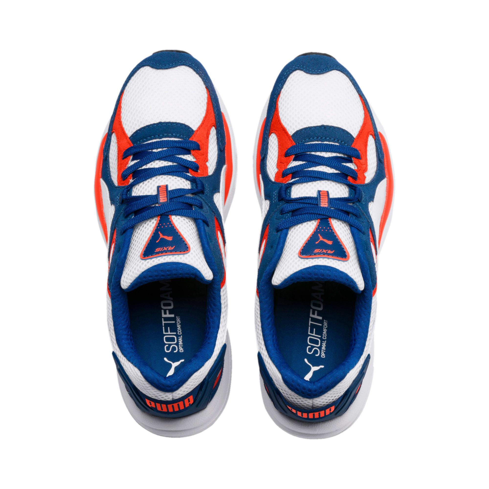 Thumbnail 7 of Axis Plus SD sneakers, White-G Blue-C Tomato-Black, medium