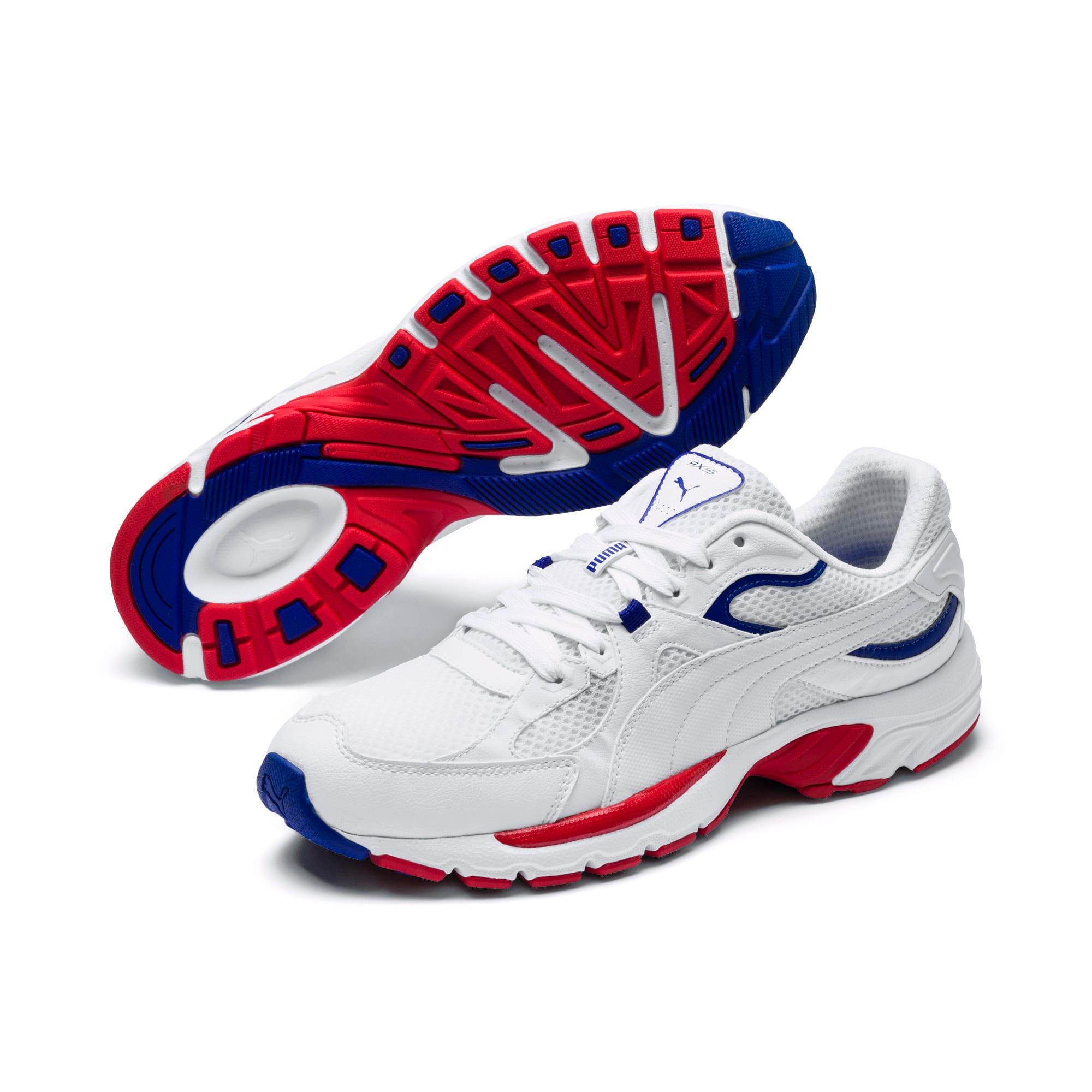 Thumbnail 2 of Axis Plus 90s Sneakers, Puma White-Puma White, medium