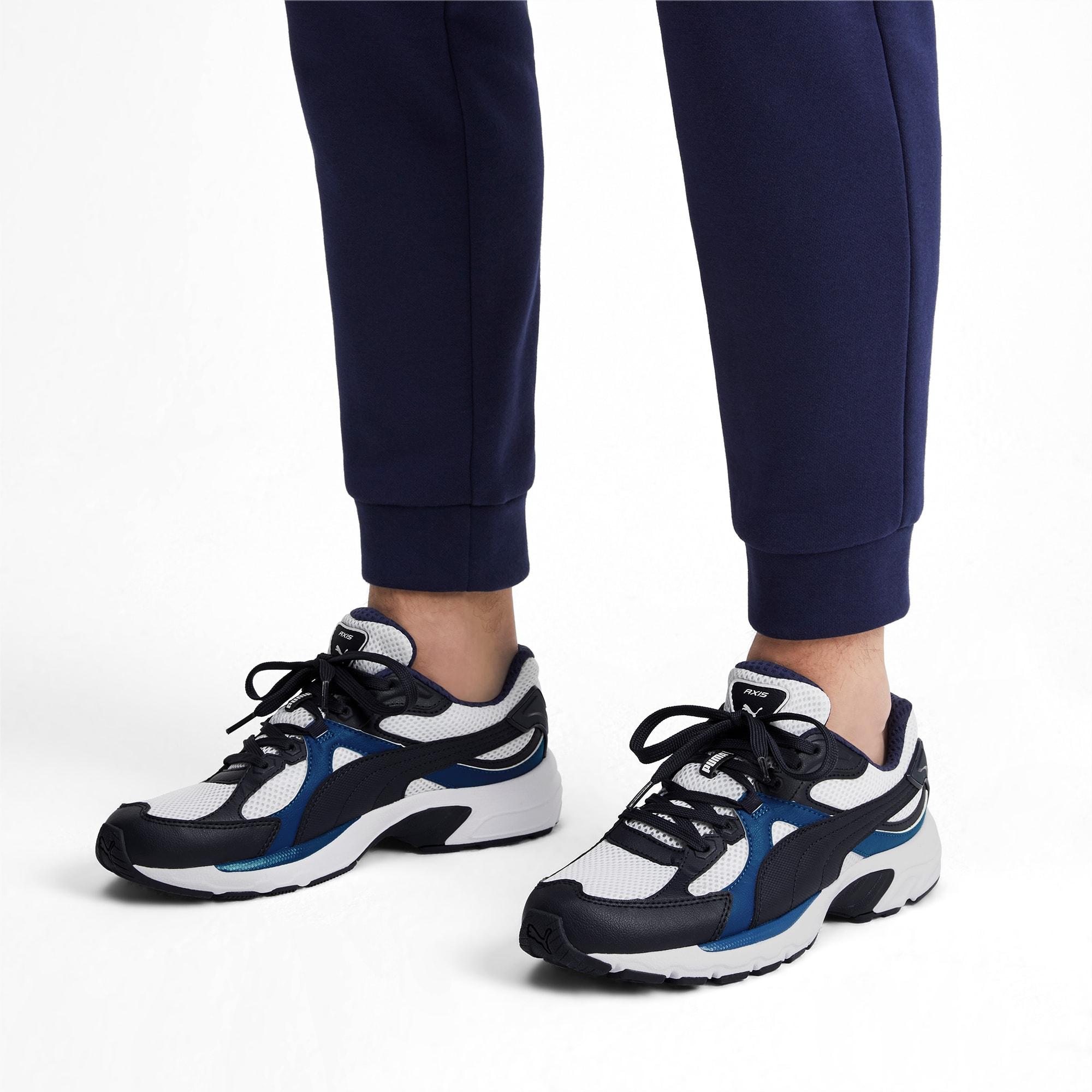 grosor alarma Entender mal  Axis Plus 90s SoftFoam+ Sneakers | White-Peacoat-Galaxy Blue | PUMA Shoes |  PUMA