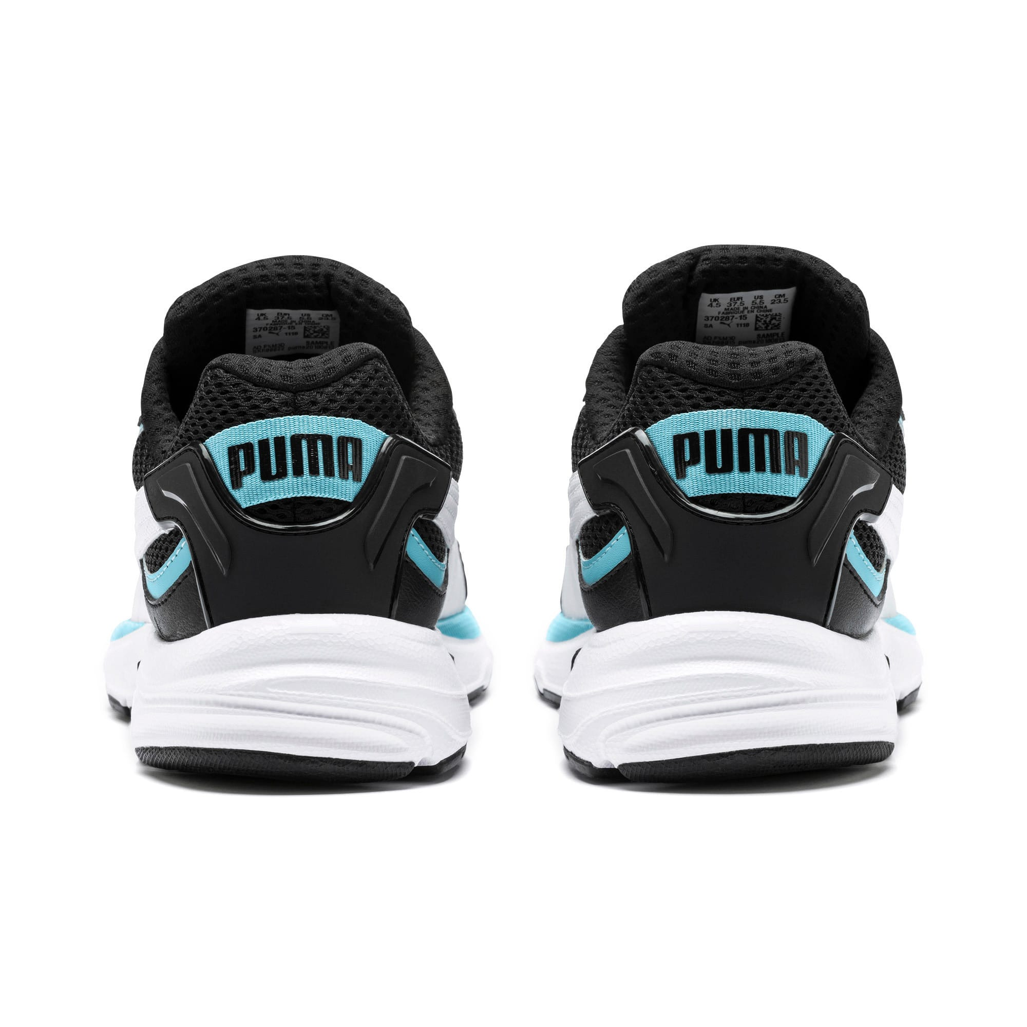 Thumbnail 5 of Axis Plus 90s Trainers, Puma Black-White-Milky Blue, medium-IND
