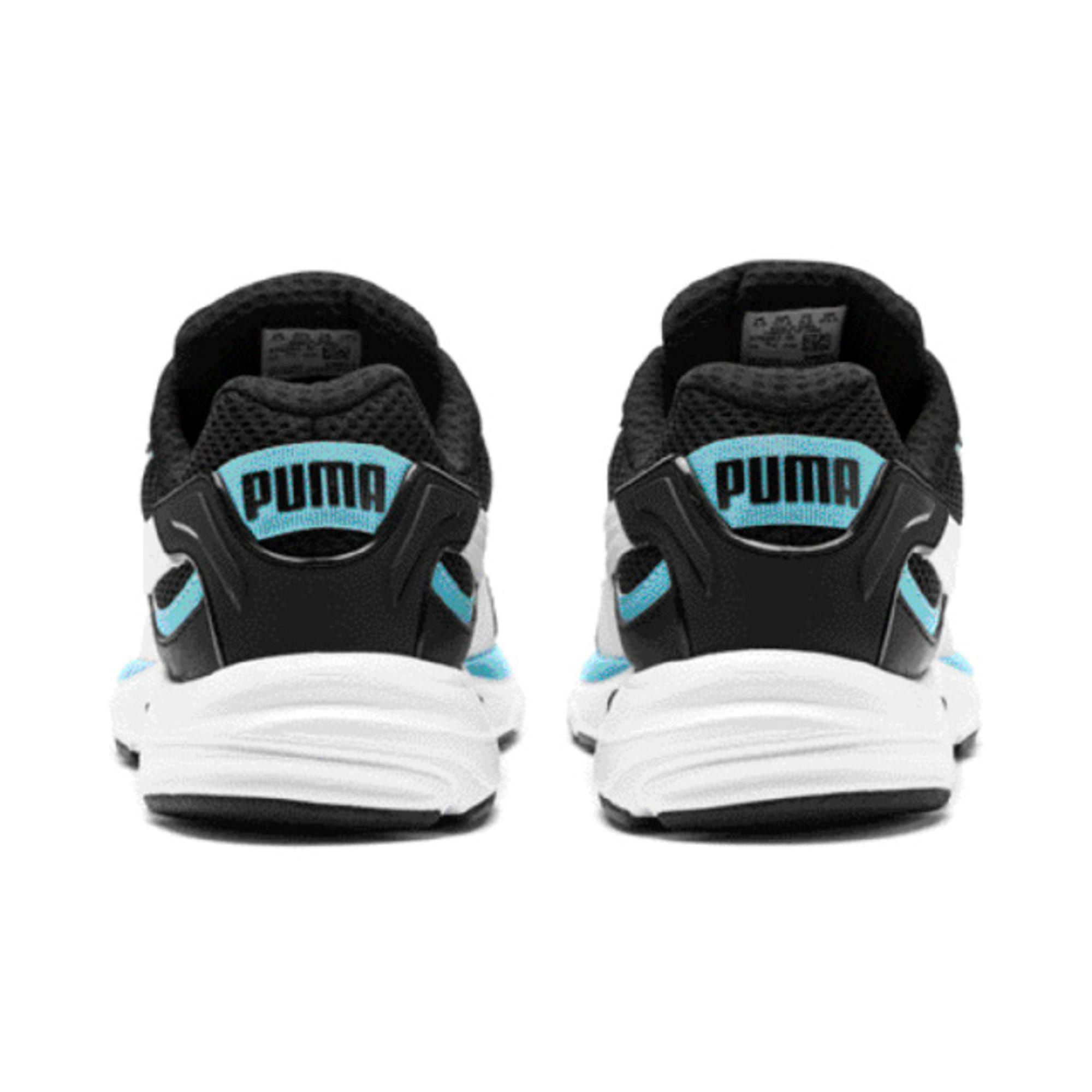 Thumbnail 6 of Axis Plus 90s Trainers, Puma Black-White-Milky Blue, medium-IND