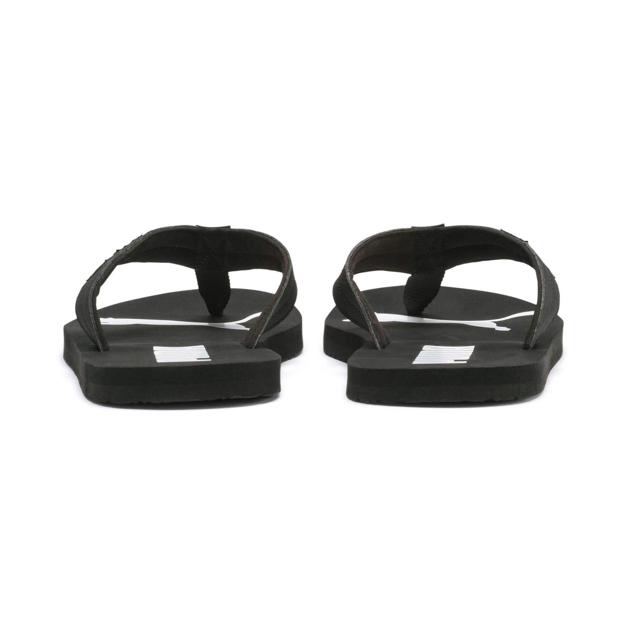 Thumbnail 3 of Cosy Flip Sandals, Puma Black-Puma White, medium