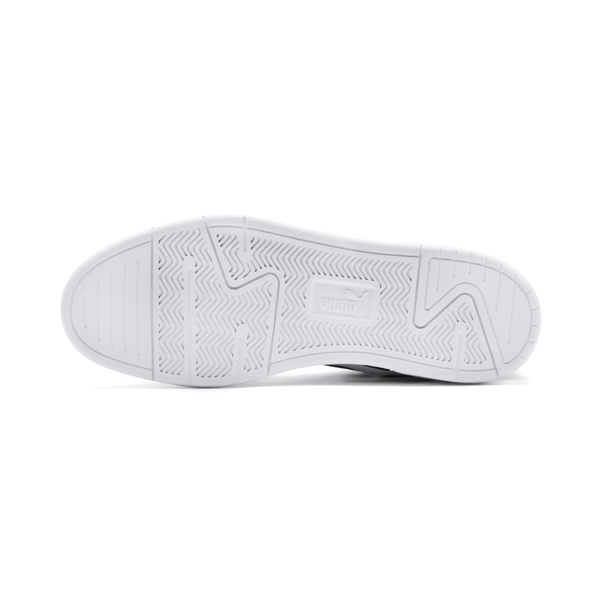 Thumbnail 6 of Caracal Suede Trainers, P.Black-P.White-P. Team Gold, medium-IND