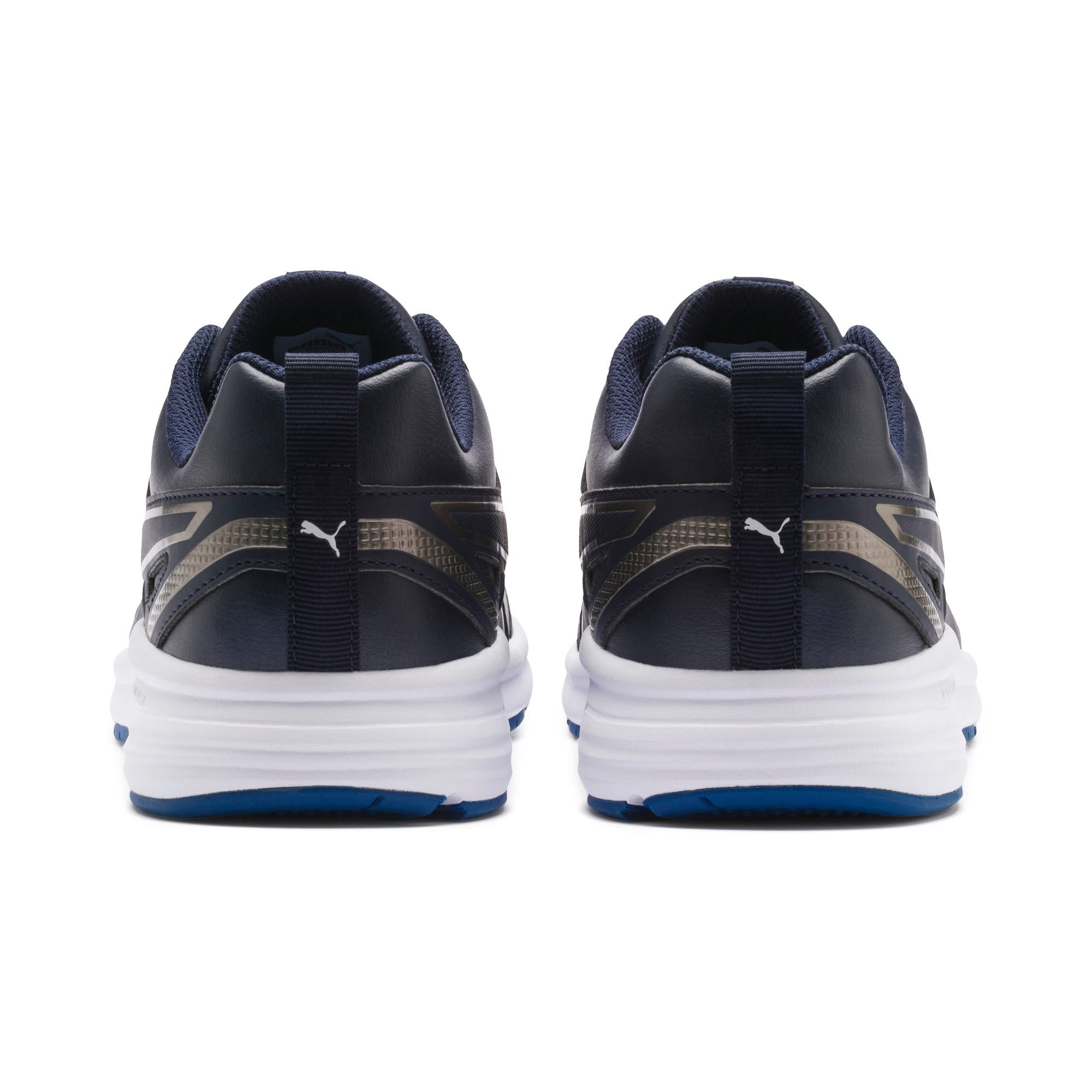 Thumbnail 5 of Pure Jogger SL Trainers, Peacoat-Silver-White-Blue, medium-IND