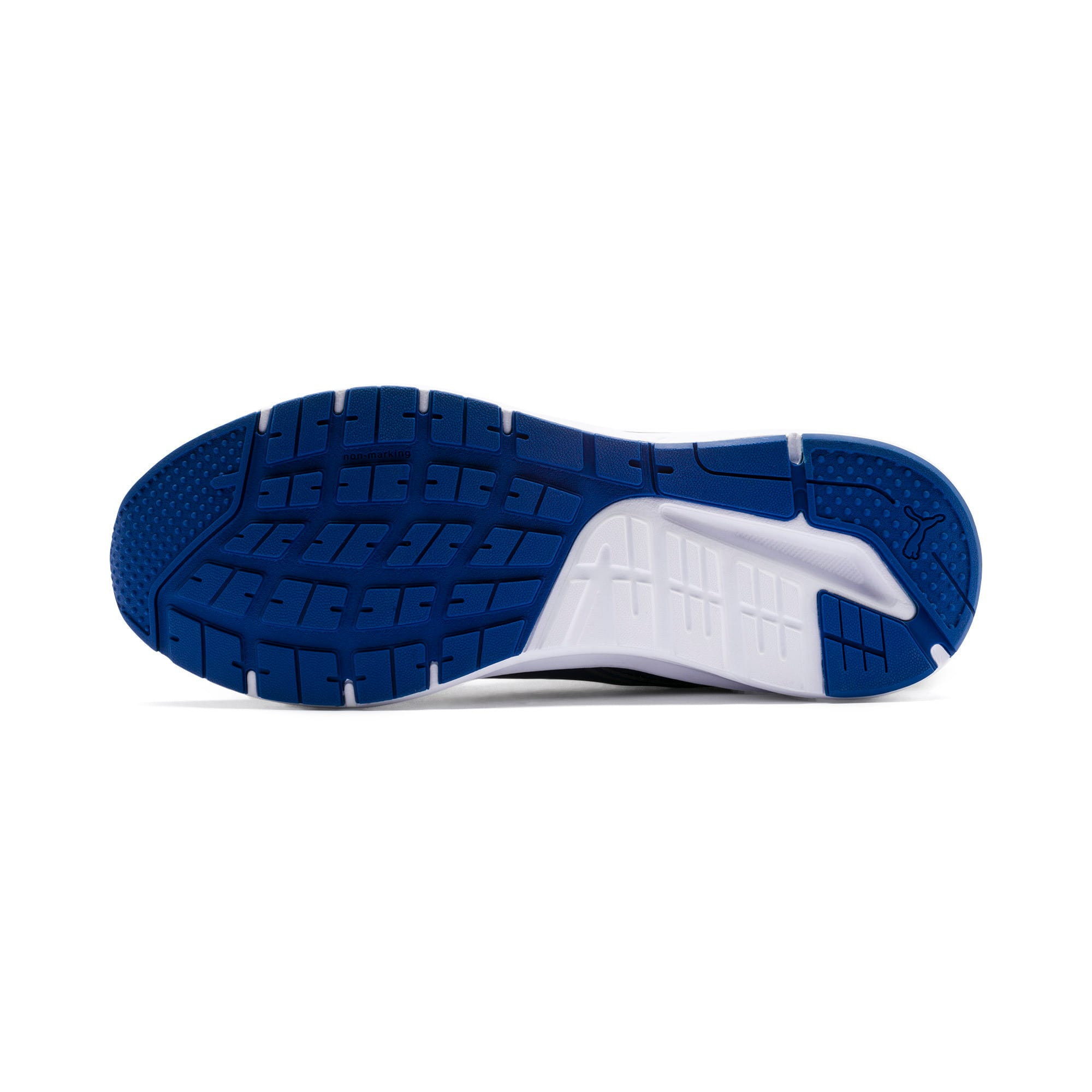 Thumbnail 6 of Pure Jogger SL Trainers, Peacoat-Silver-White-Blue, medium-IND