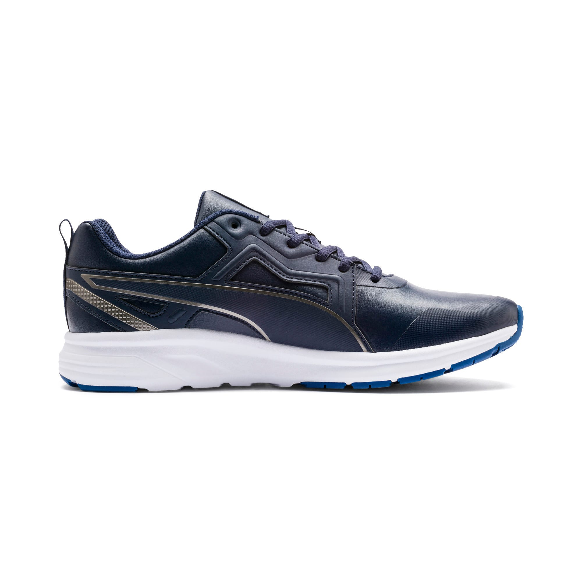 Thumbnail 7 of Pure Jogger SL Trainers, Peacoat-Silver-White-Blue, medium-IND