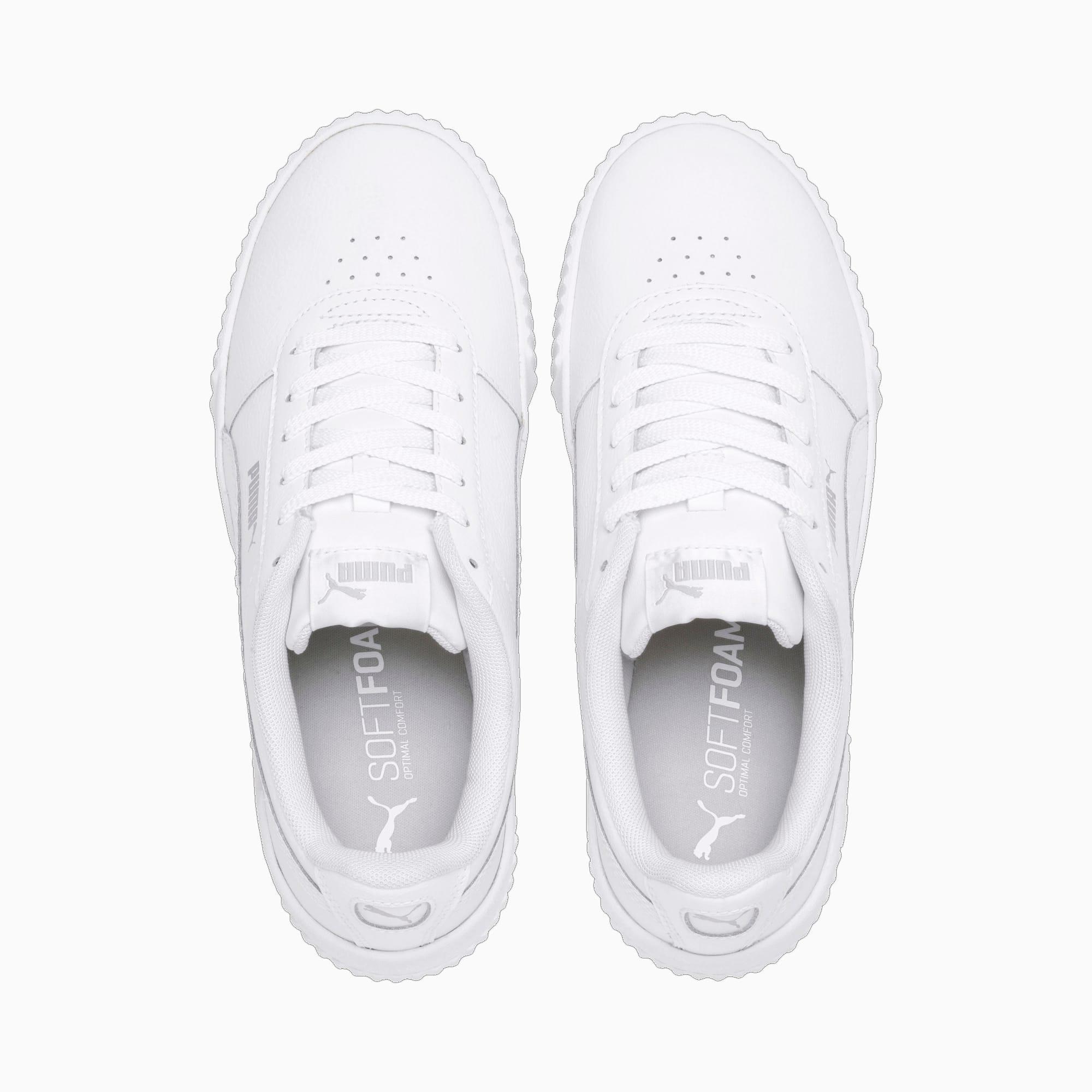 Carina Damen Sneaker | Puma White White Silver | PUMA