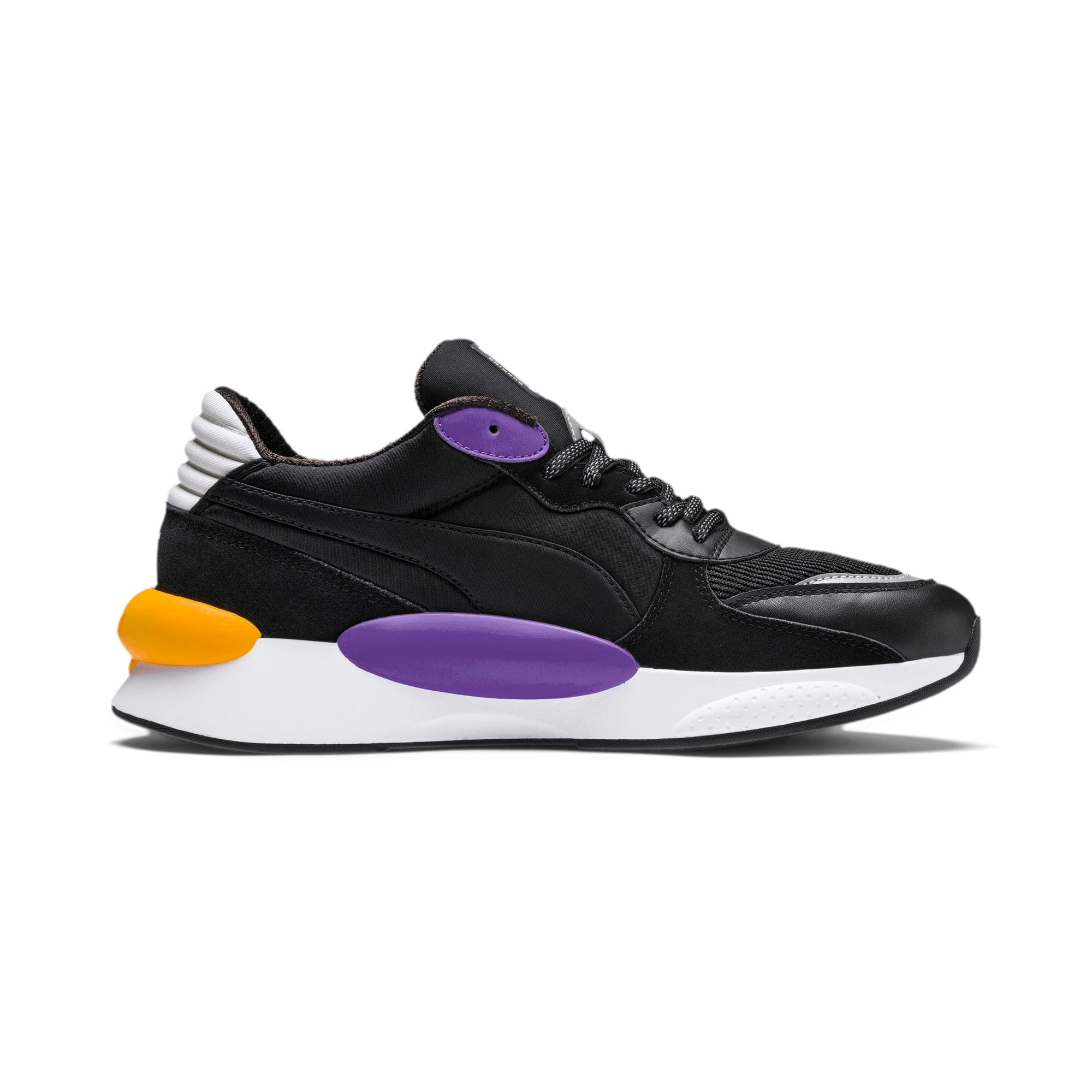 Thumbnail 6 of RS 9.8 Gravity Trainers, Puma Black-Purple Glimmer, medium