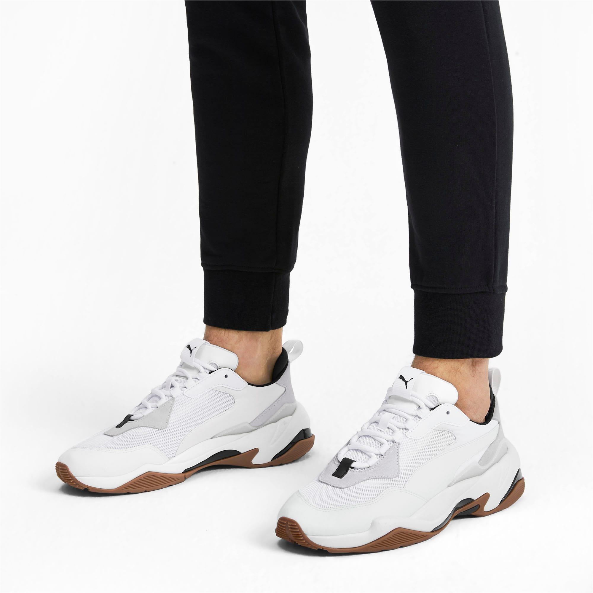 Thumbnail 2 of Thunder Fashion 2.0 sportschoenen, Puma White-Whisper White, medium