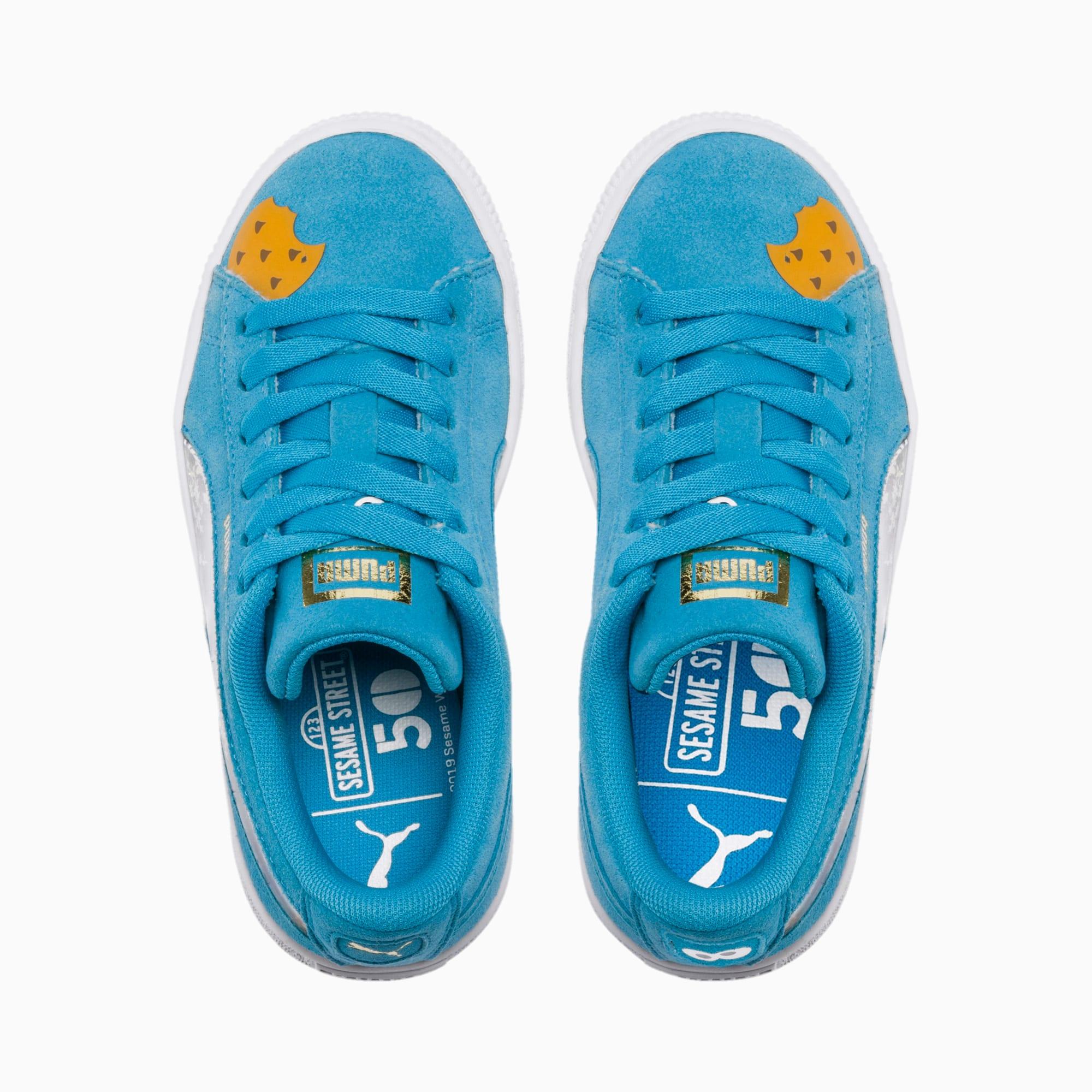 PUMA x SESAME STREET 50 Suede Statement Little Kids' Shoes