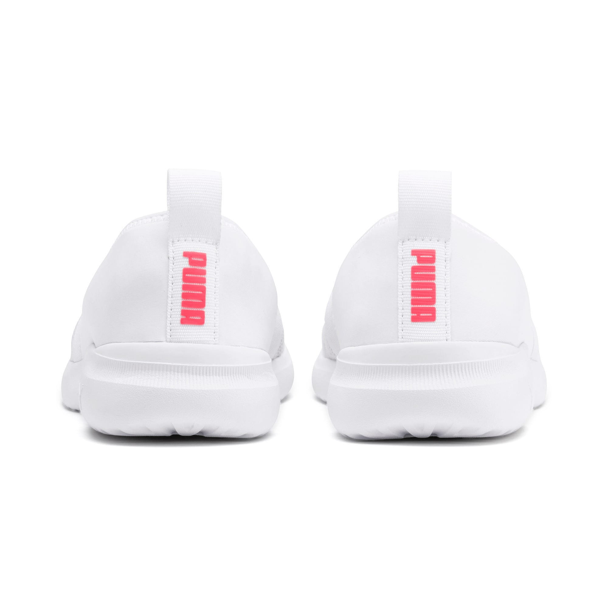 Thumbnail 3 of Adelina Sparkle Women's Trainers, Puma White-Pink Alert, medium-IND
