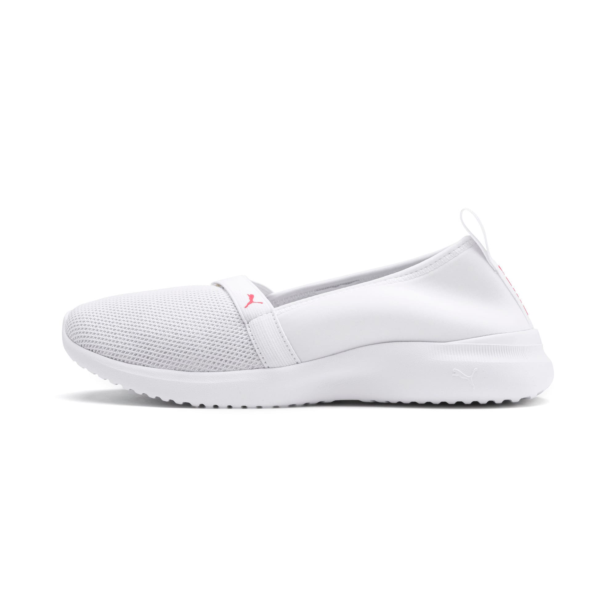 Thumbnail 1 of Adelina Sparkle Women's Trainers, Puma White-Pink Alert, medium-IND
