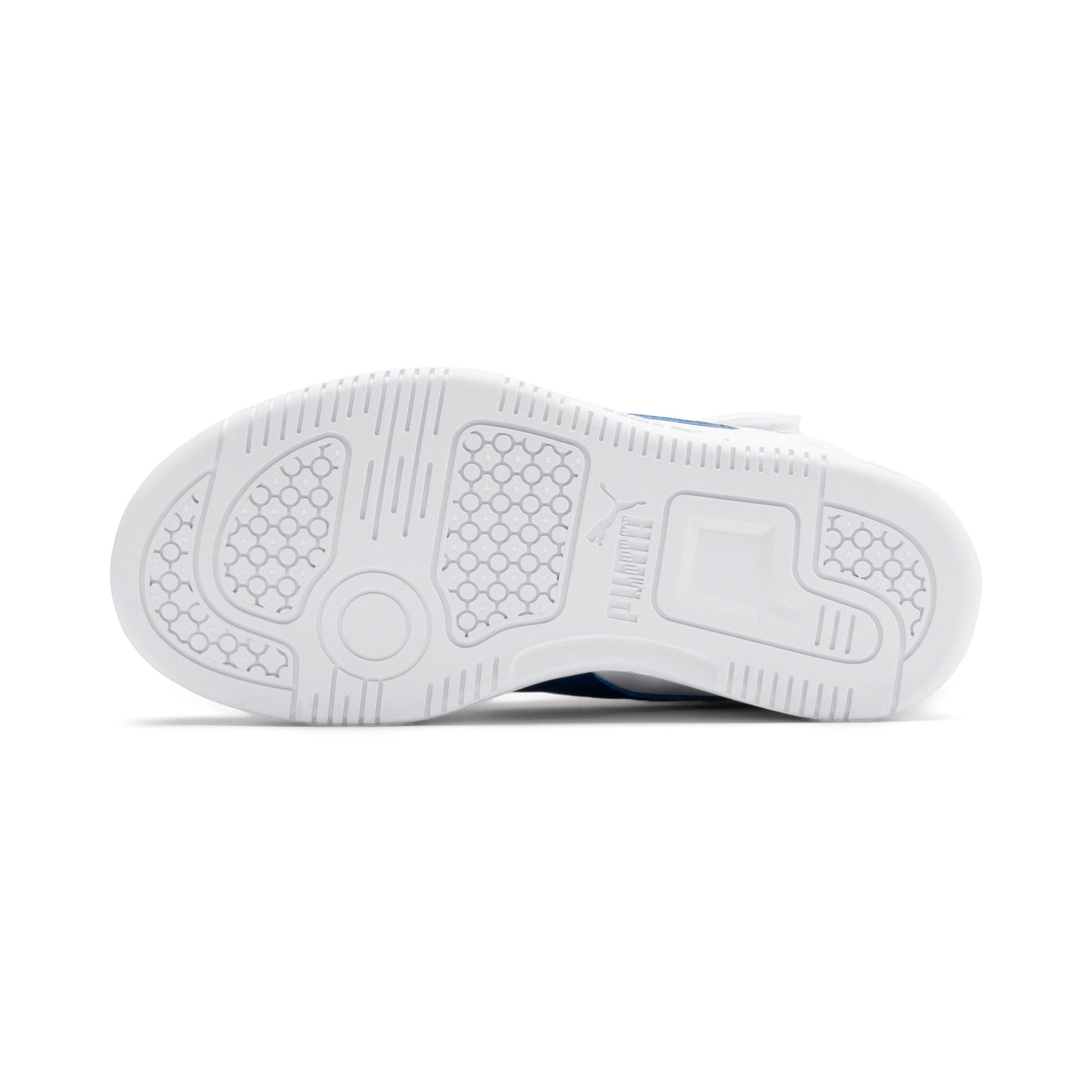 Thumbnail 4 of Rebound Lay-Up SL V Kids' Trainers, Puma White-Galaxy Blue, medium-IND