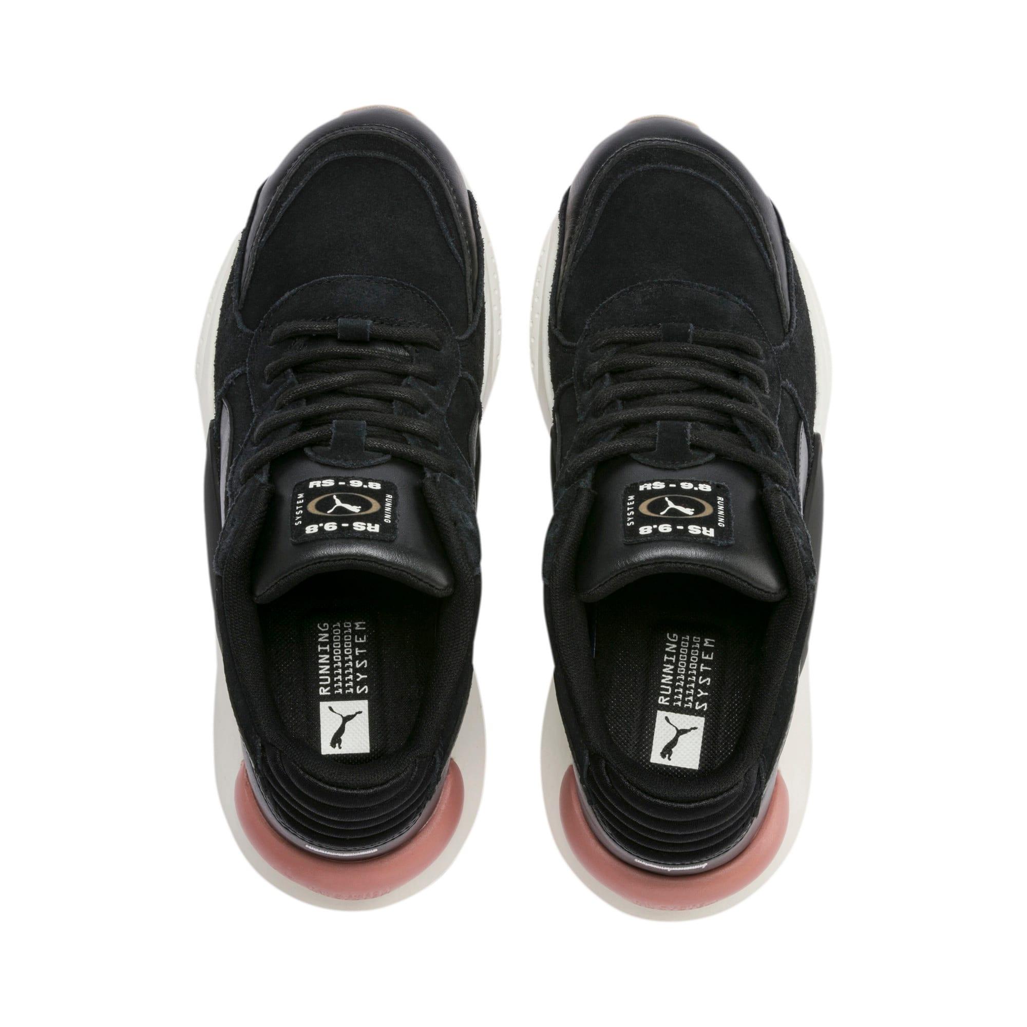 Thumbnail 7 of RS 9.8 Metallic Women's Sneakers, Puma Black Heather, medium