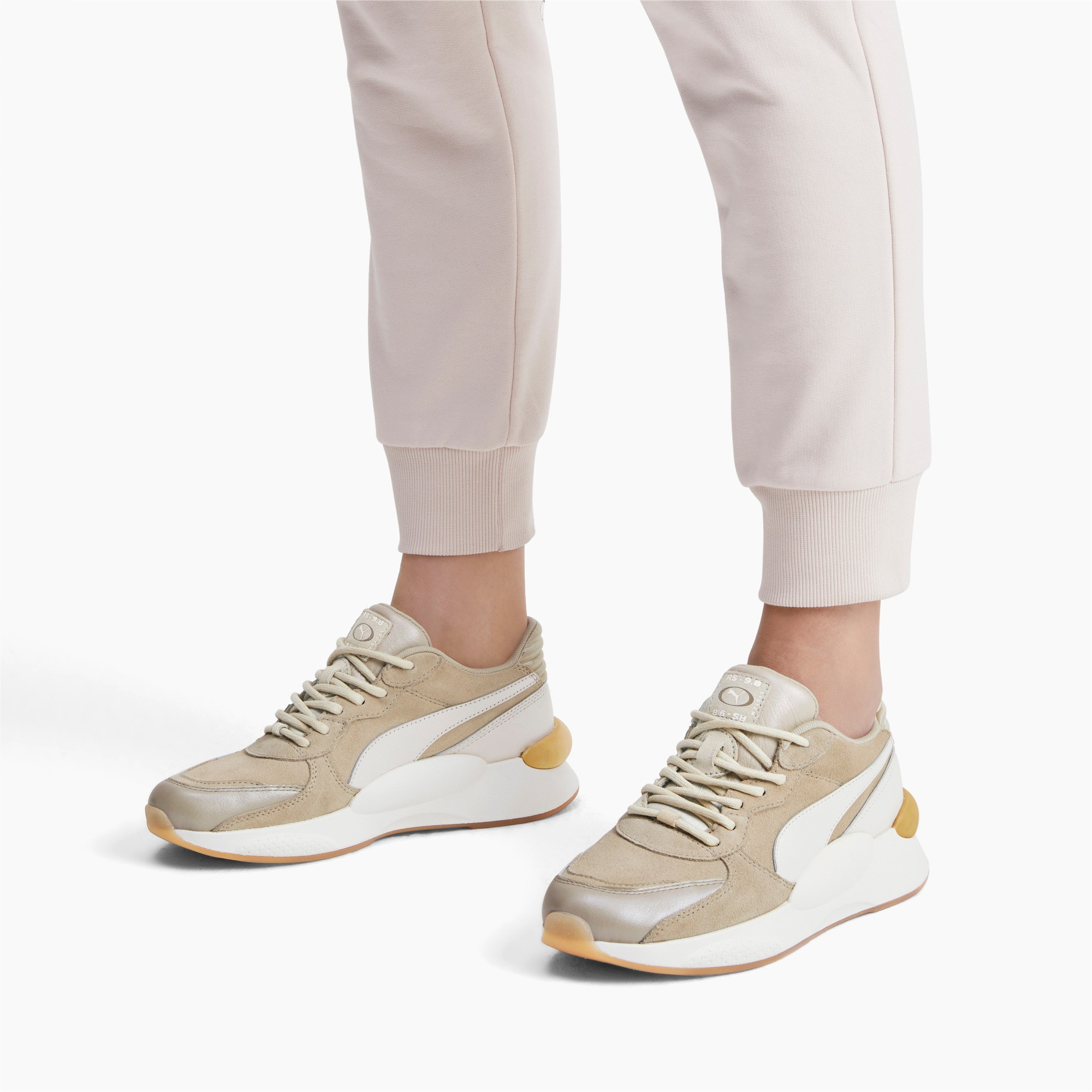 Thumbnail 2 of RS 9.8 Metallic Women's Sneakers, Overcast, medium
