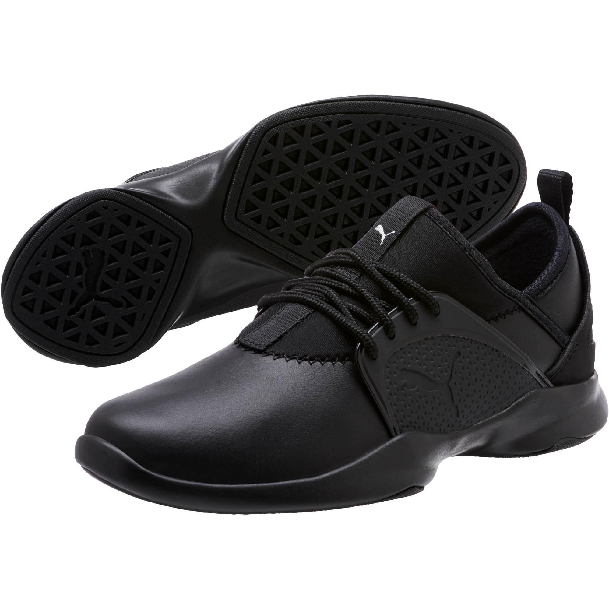 Thumbnail 2 of PUMA Dare Lace Women's Sneakers, P.Black-P.Black-P. Black, medium