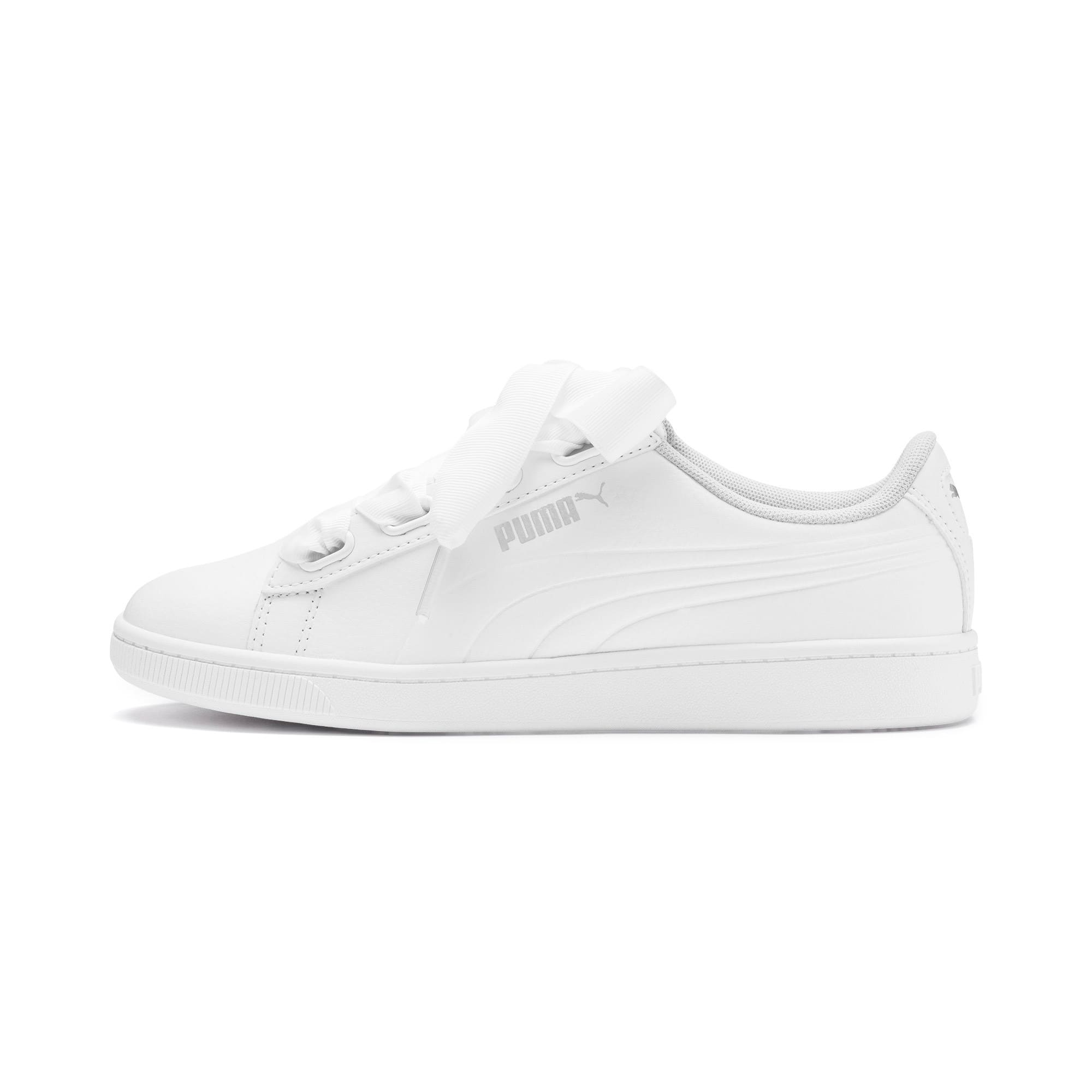 Vikky v2 Ribbon SL Youth Trainers, White-Silver-Gray Violet, large