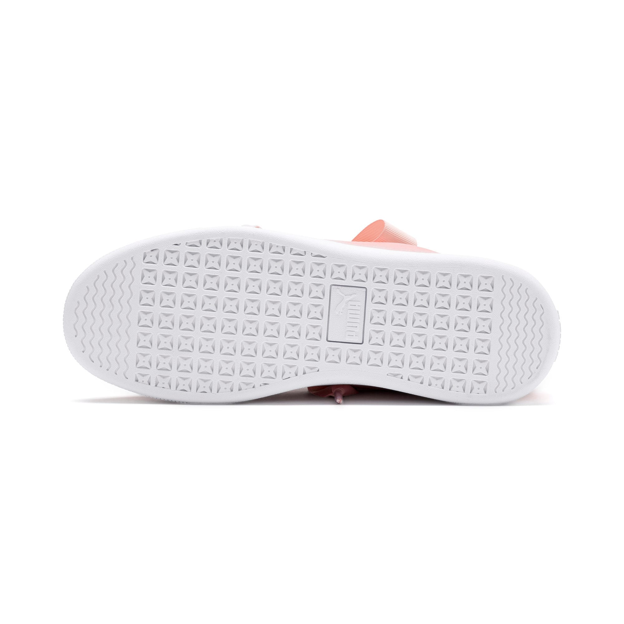 Thumbnail 4 of Vikky v2 Ribbon SL Youth Trainers, Bridal Rose-Silver-White, medium-IND