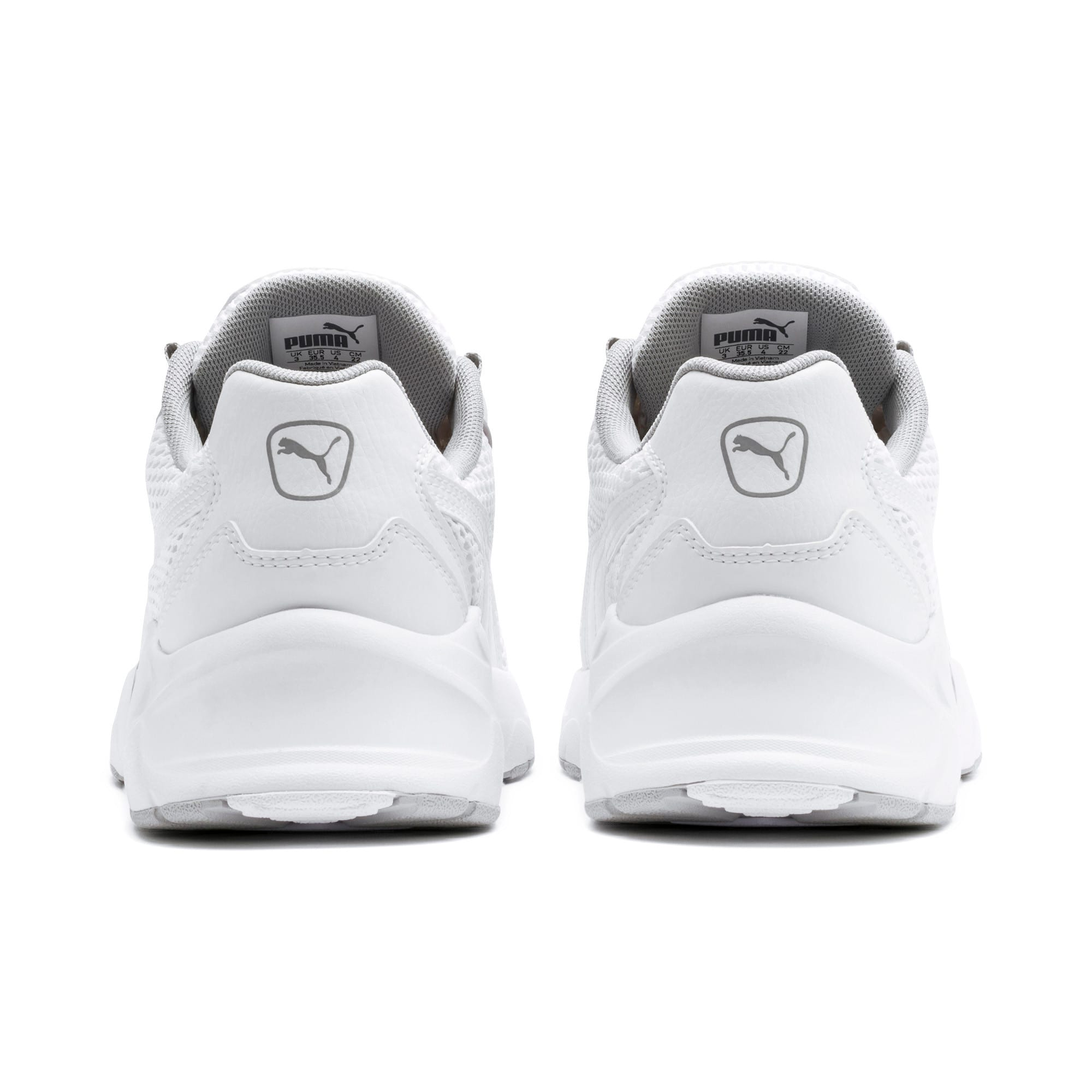 Thumbnail 3 of Nucleus Youth Trainers, Puma White-High Rise, medium