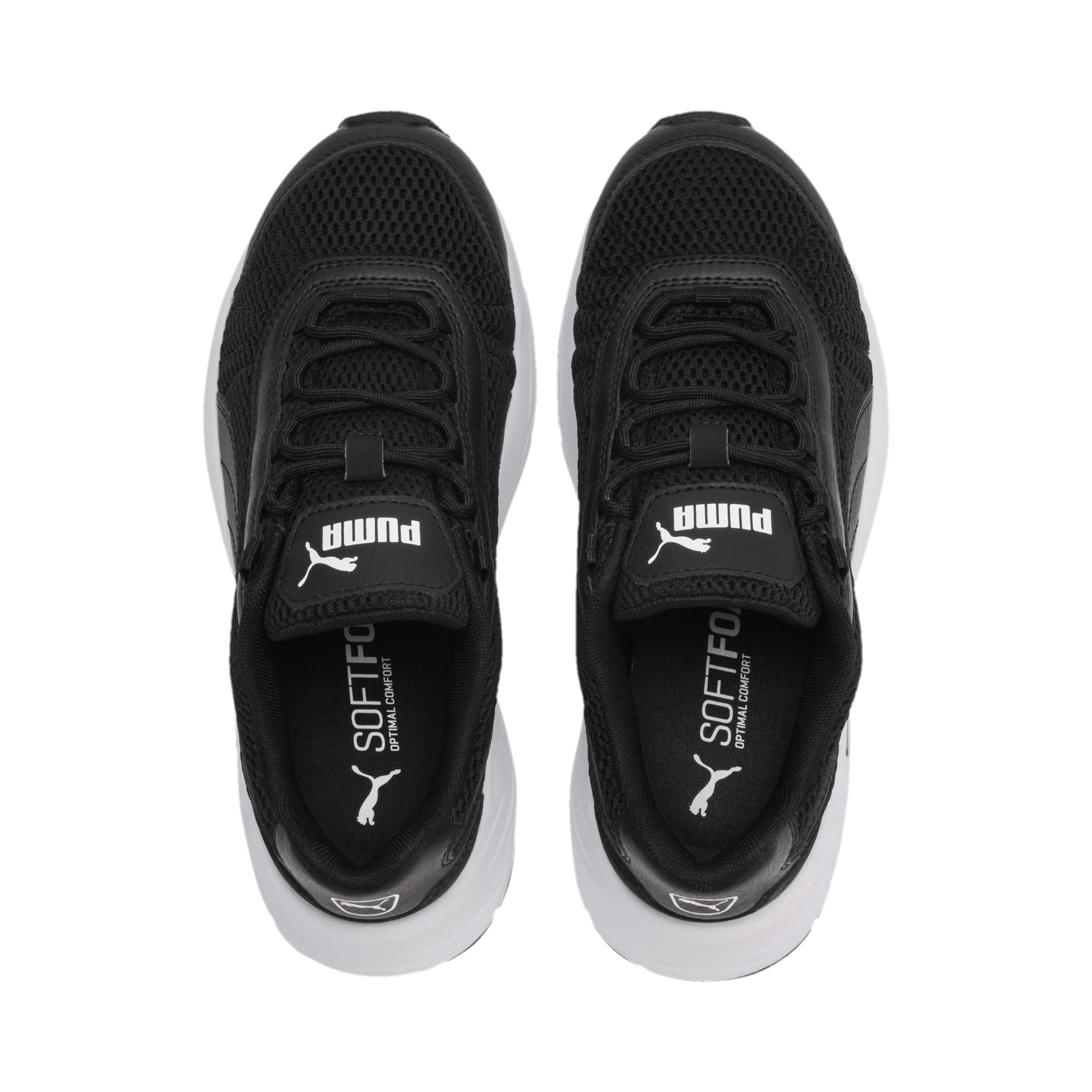 Thumbnail 6 of Nucleus Youth Sneaker, Puma Black-Puma Black, medium