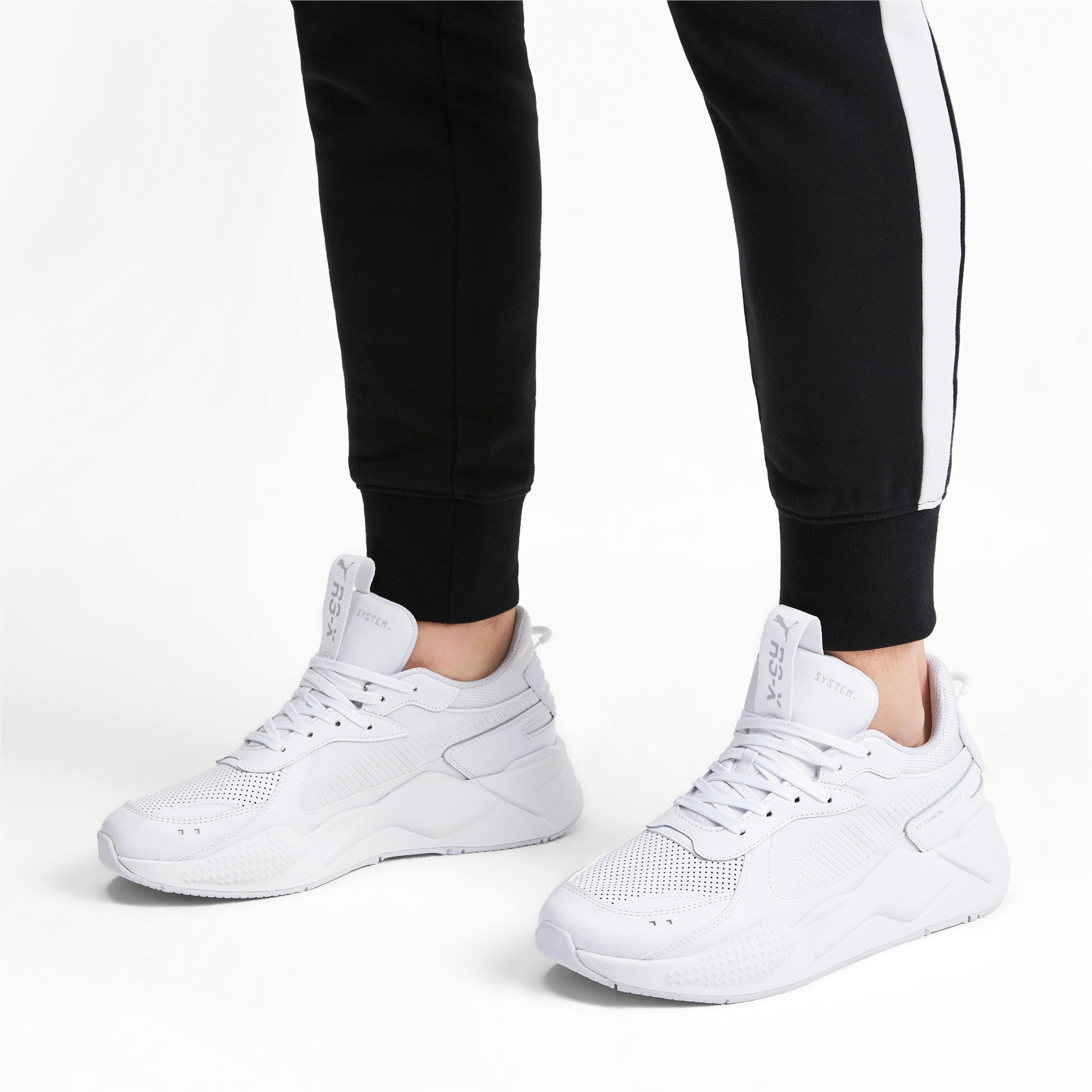 Thumbnail 2 of RS-X Winterised Trainers, Puma White, medium