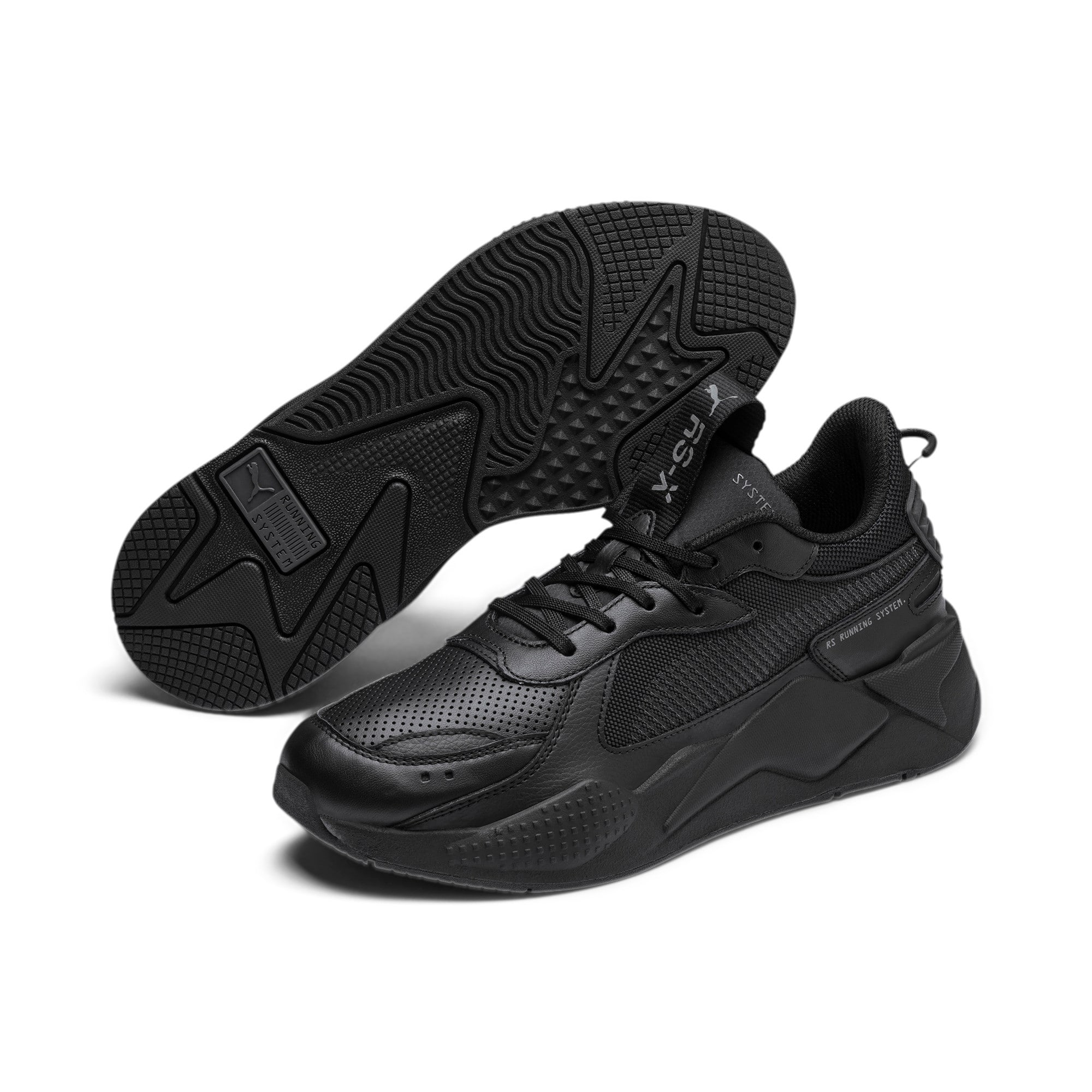 Thumbnail 3 of RS-X Winterised Trainers, Puma Black, medium