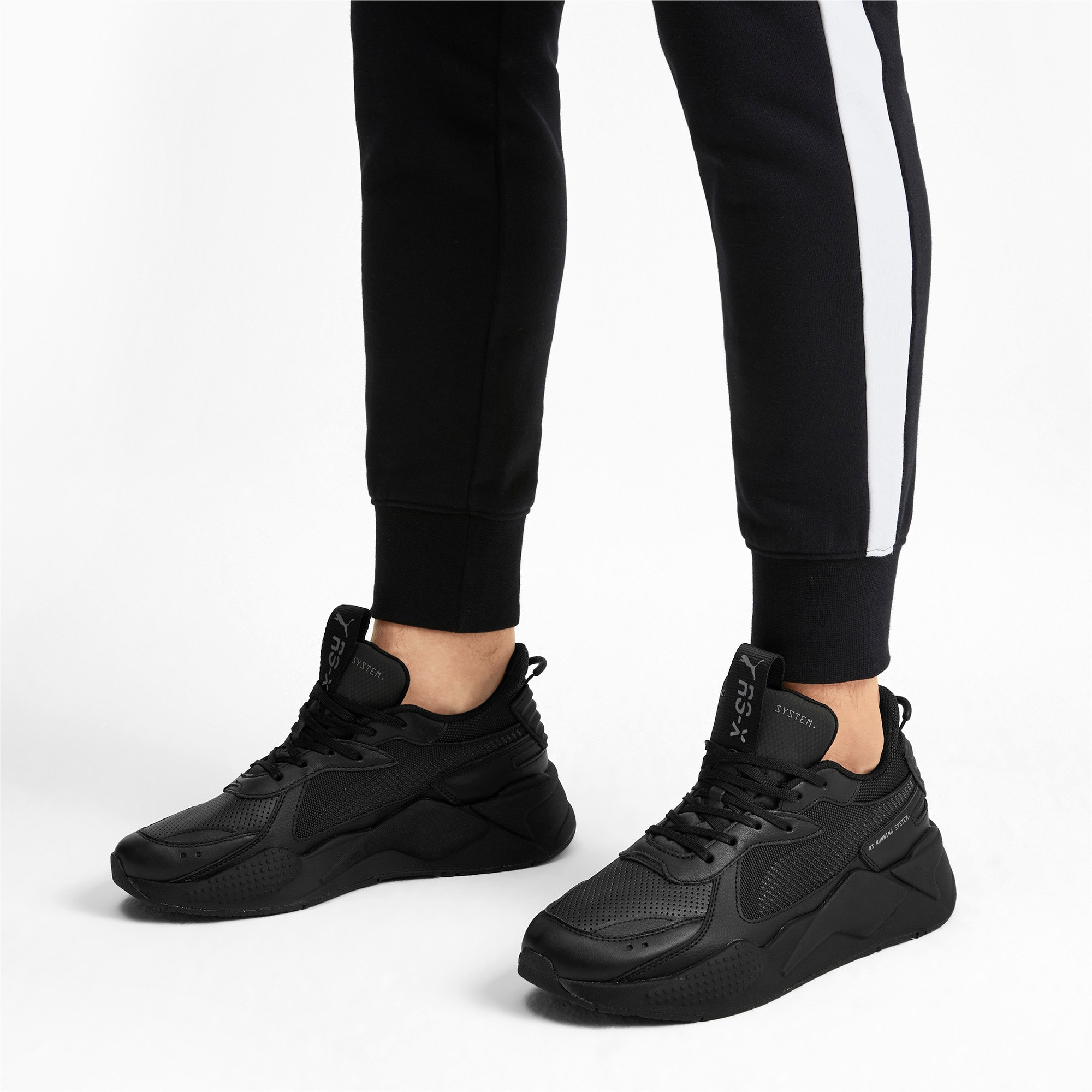 Thumbnail 2 of RS-X Winterised Trainers, Puma Black, medium