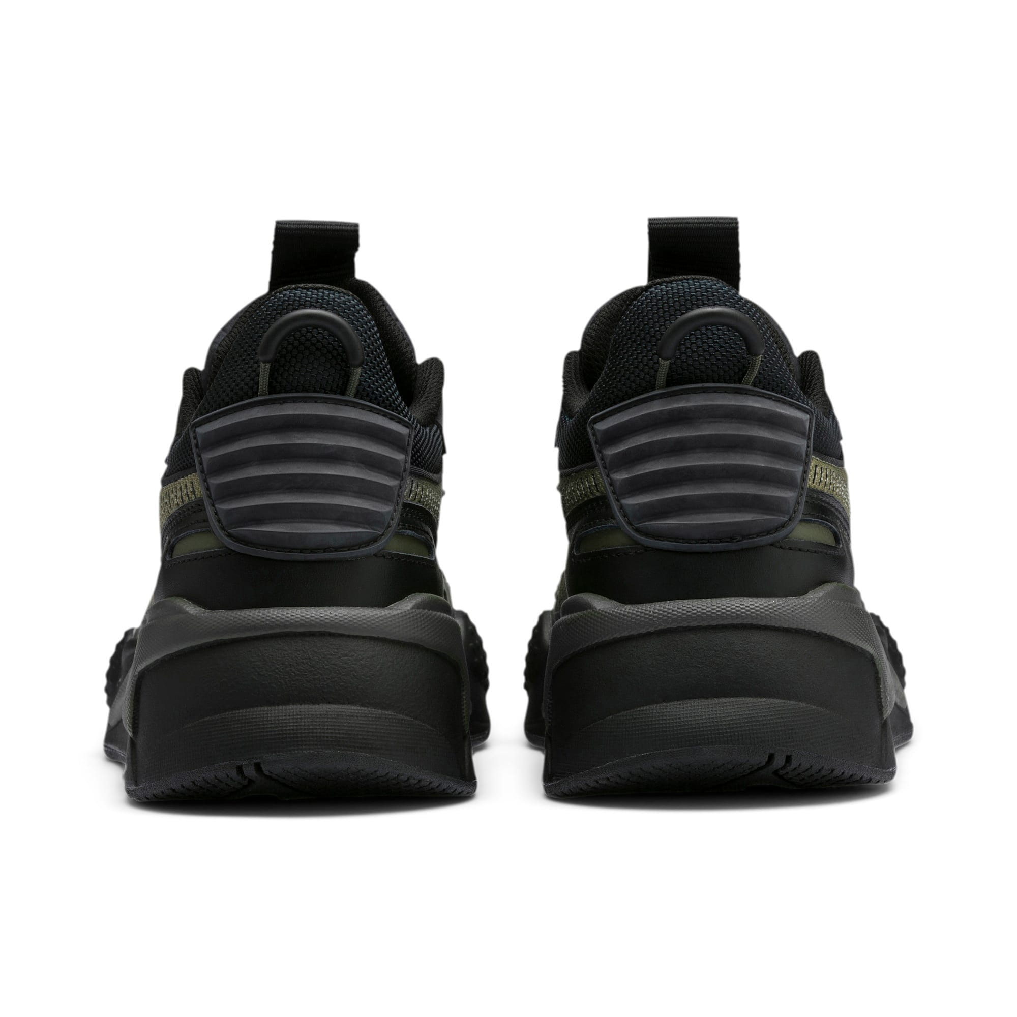 Thumbnail 4 of RS-X Winterized Sneakers, Puma Black-Burnt Olive, medium
