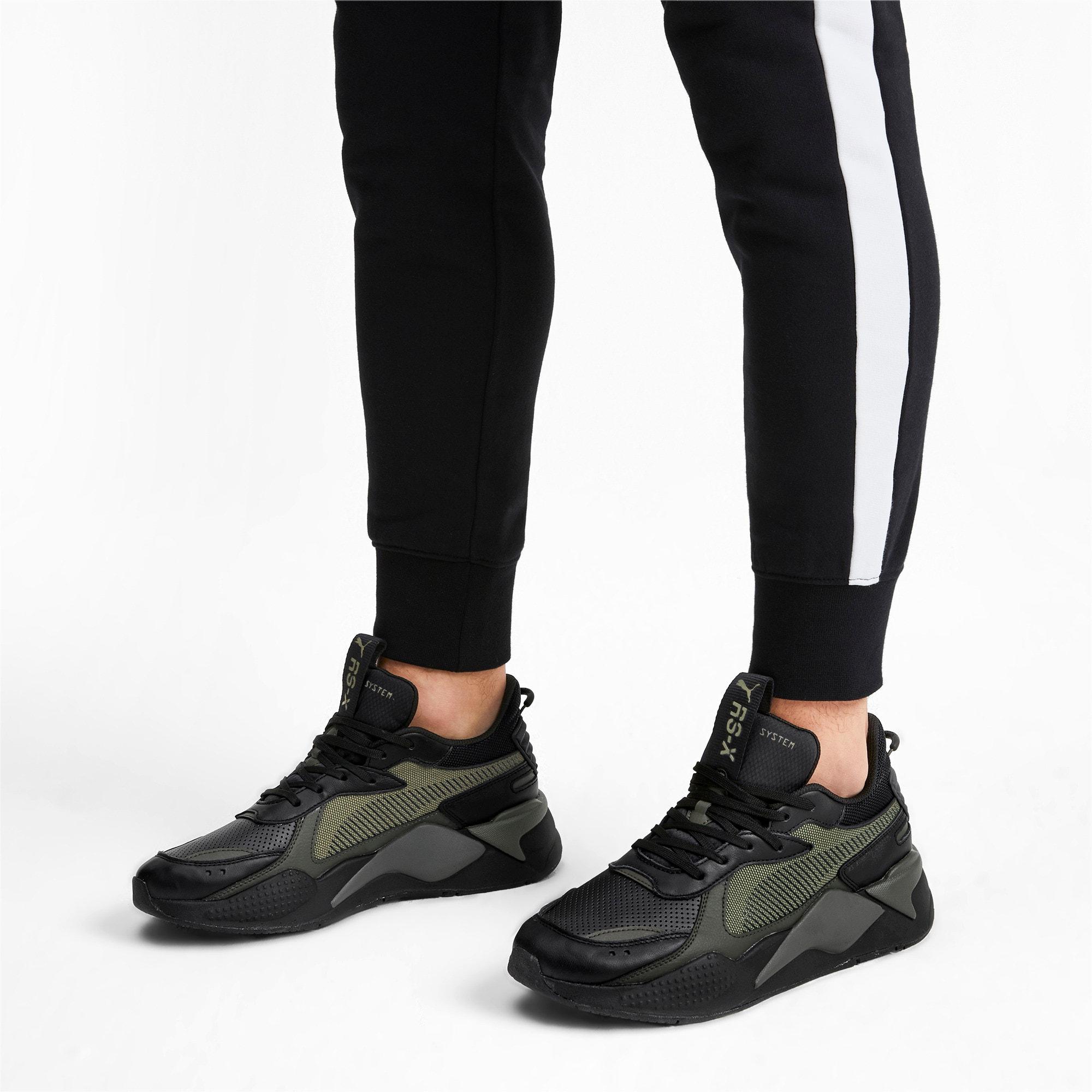 Thumbnail 2 of RS-X Winterized Sneakers, Puma Black-Burnt Olive, medium