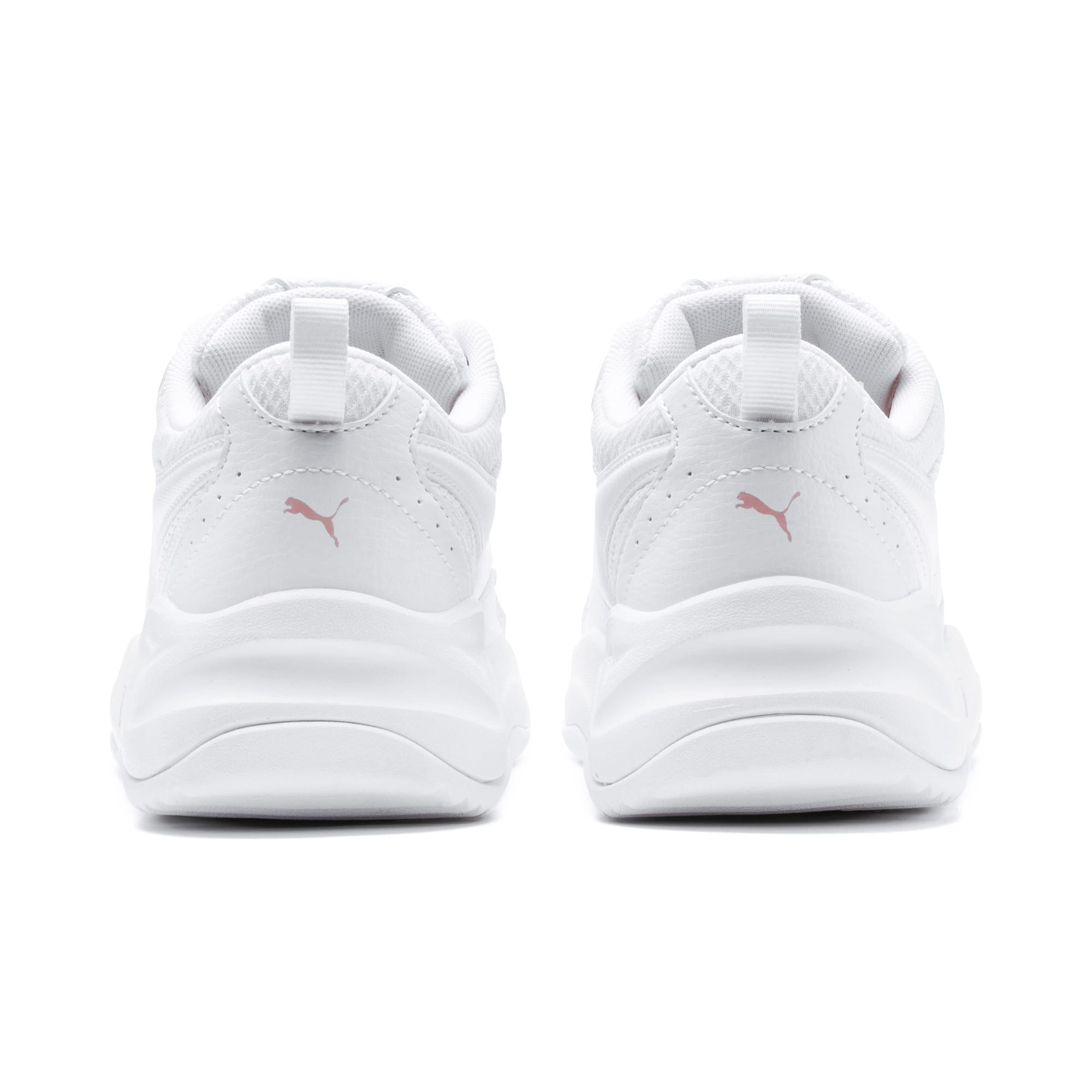 Thumbnail 3 of Cilia Youth Trainers, Puma White-Bridal Rose, medium