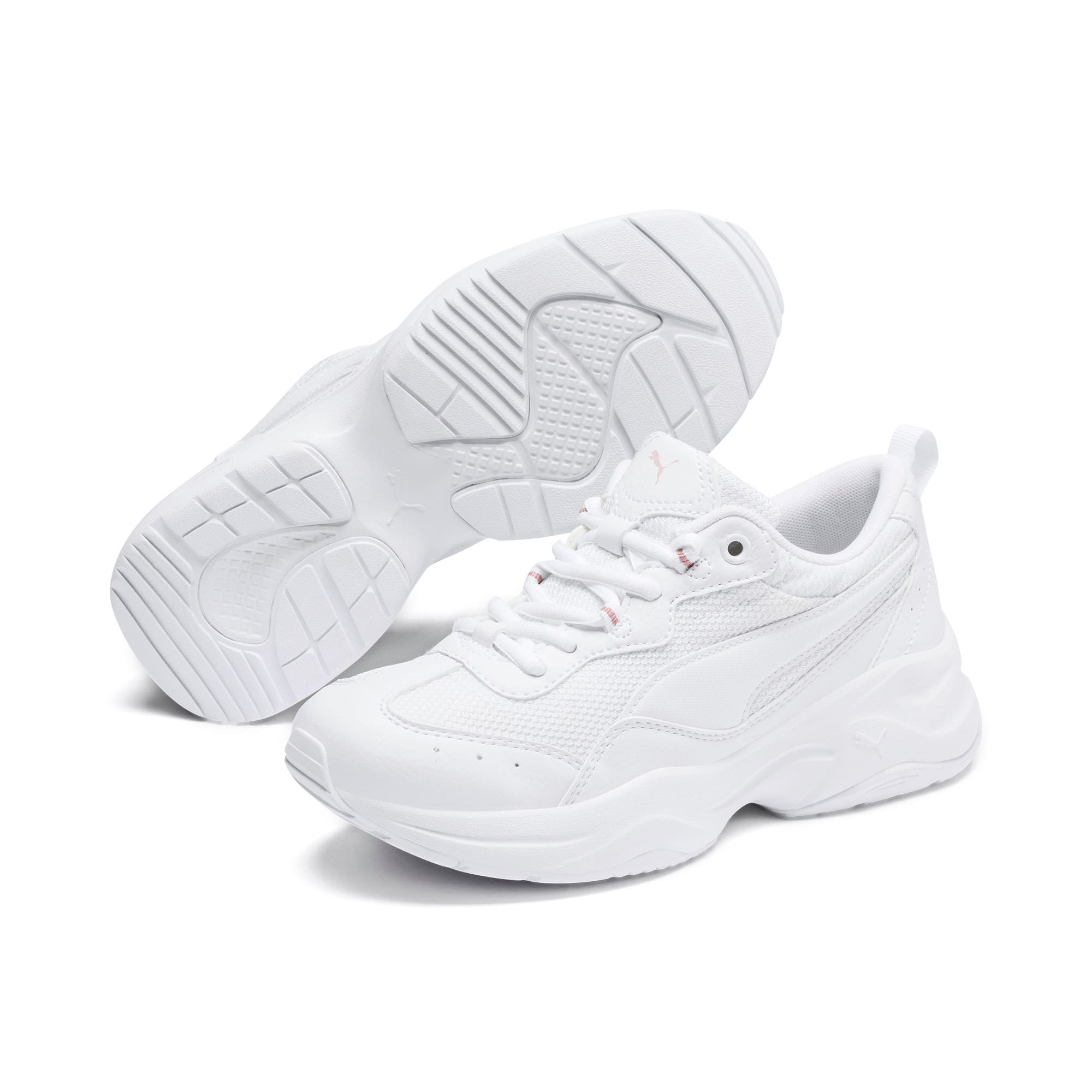 Thumbnail 2 of Cilia Youth Trainers, Puma White-Bridal Rose, medium