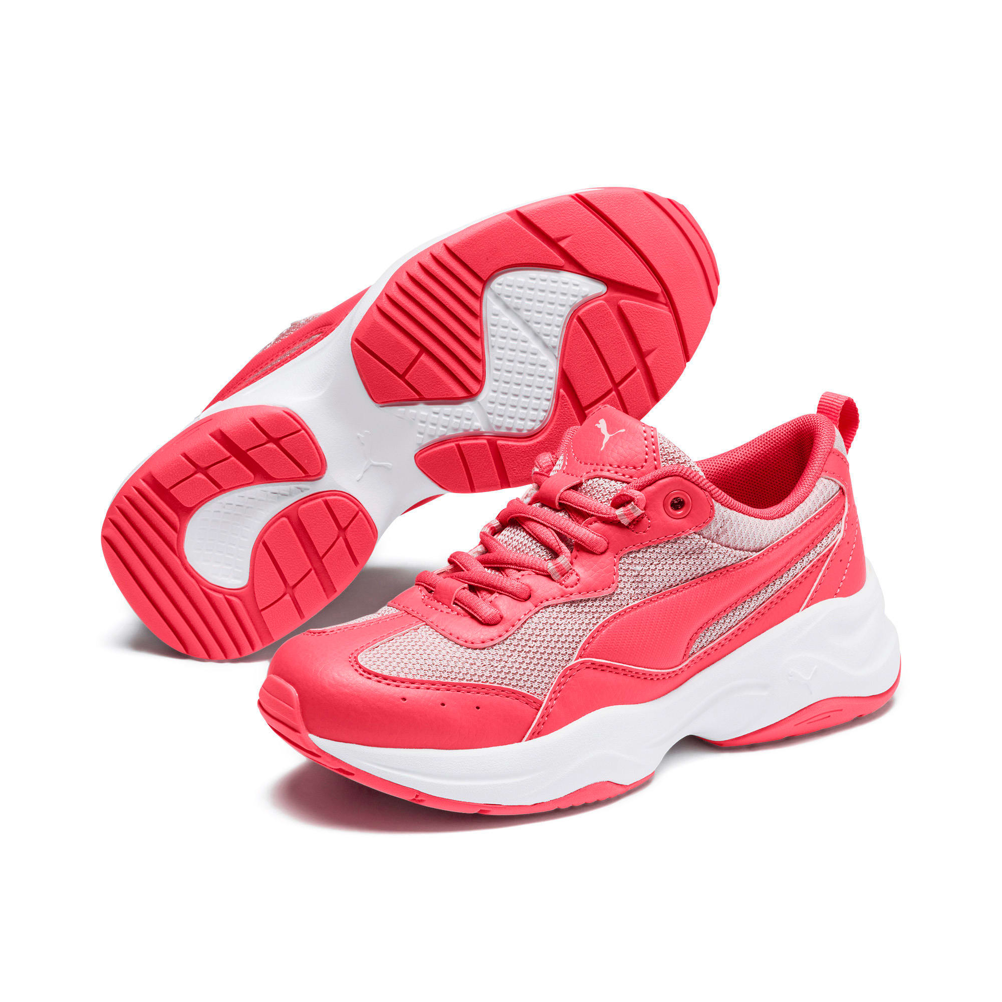 Thumbnail 2 of Cilia Youth Trainers, Calypso Coral-B Rose-White, medium