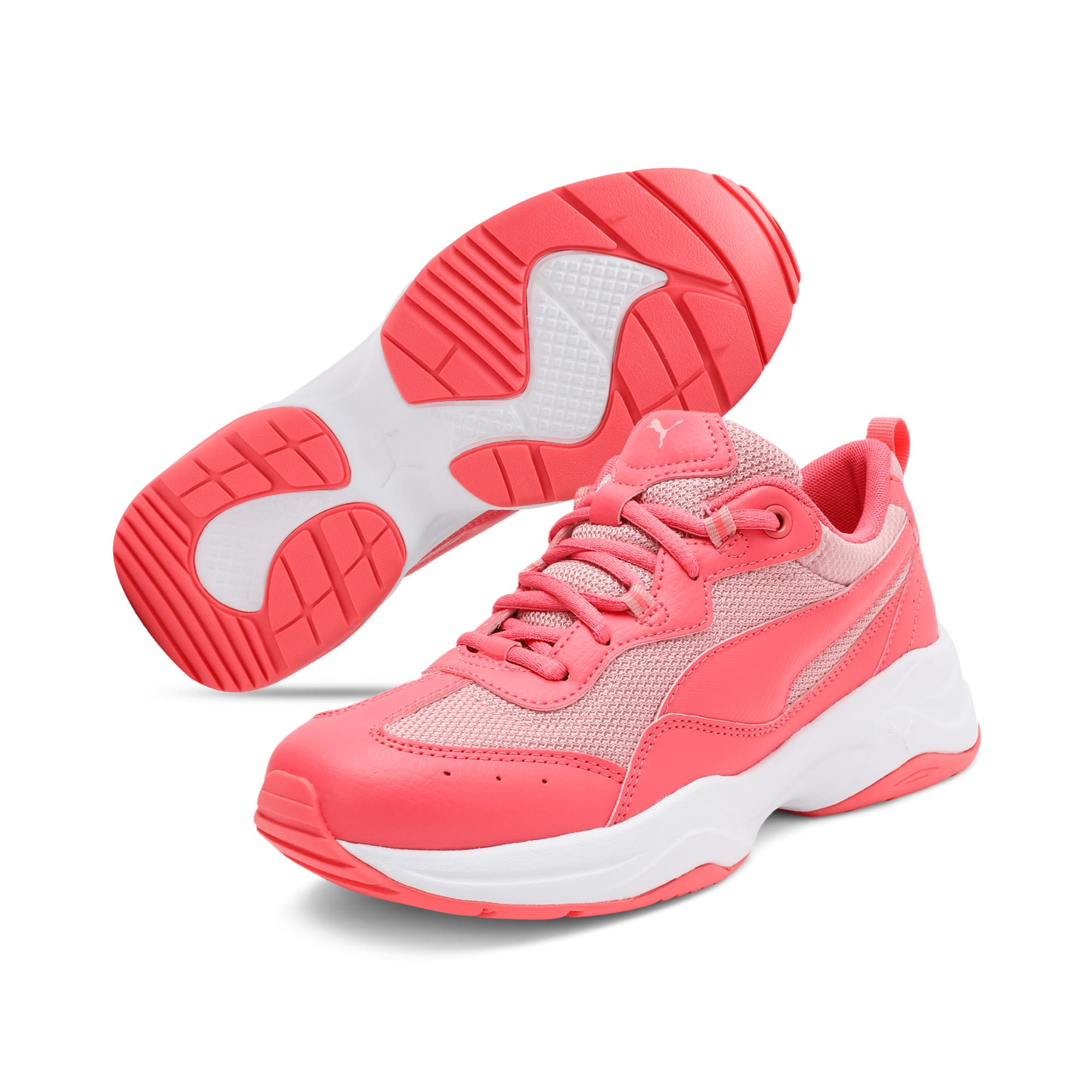 Thumbnail 2 of Cilia Youth Trainers, Calypso Coral-B Rose-White, medium-IND