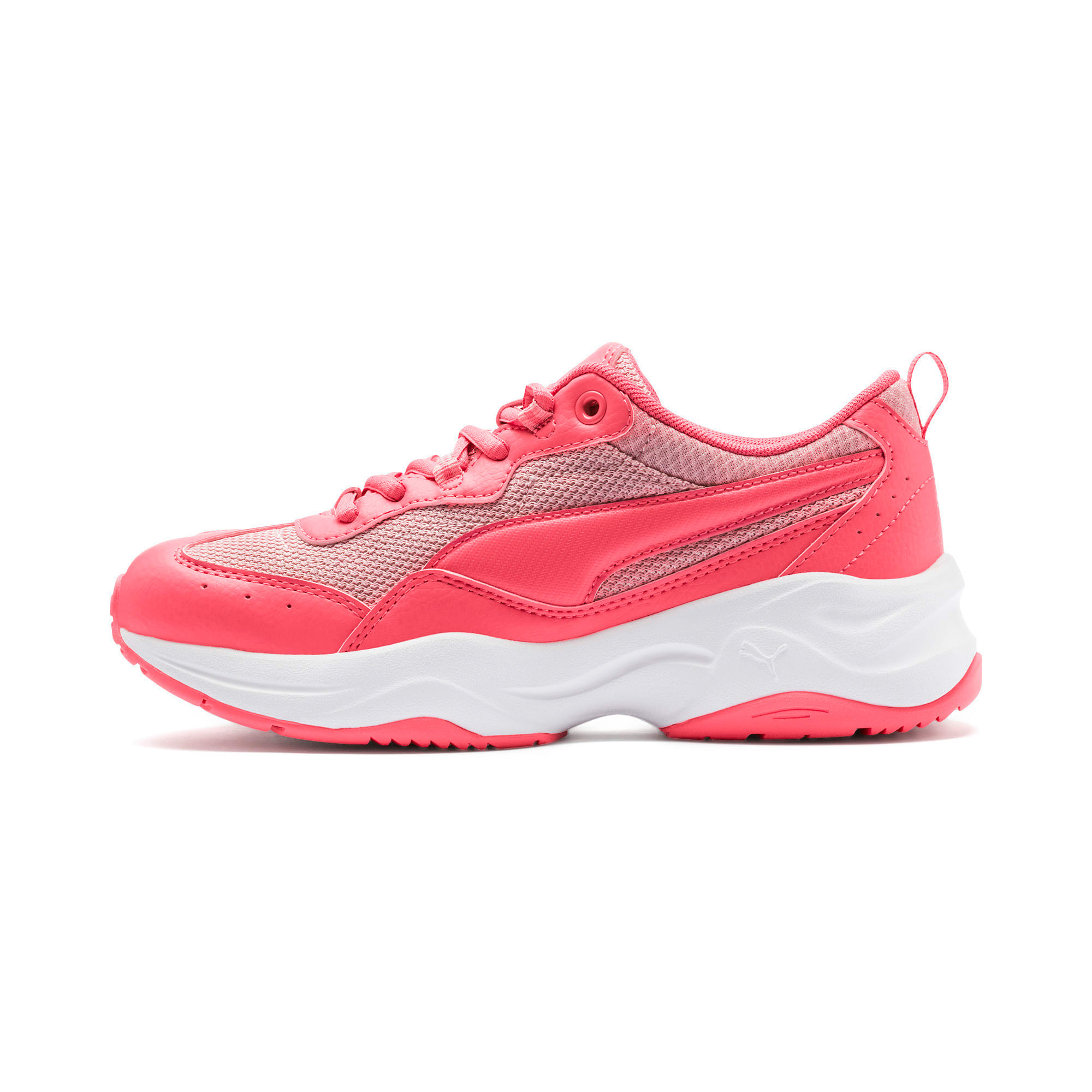 Thumbnail 1 of Cilia Youth Trainers, Calypso Coral-B Rose-White, medium