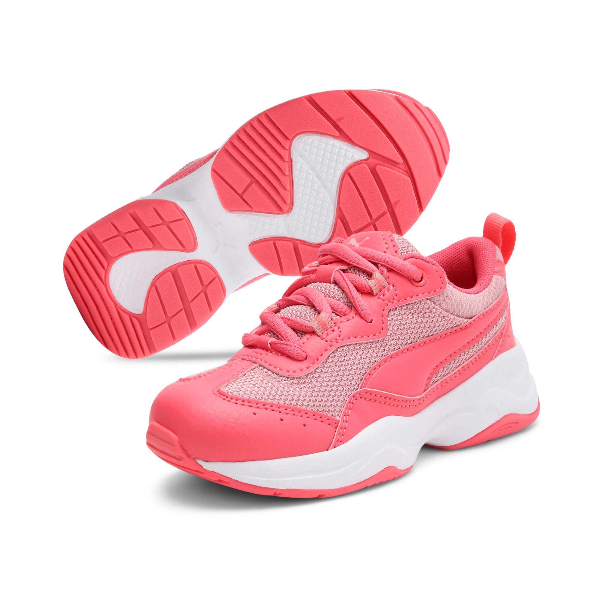 Thumbnail 2 of Cilia Kids' Trainers, Calypso Coral-B Rose-White, medium-IND