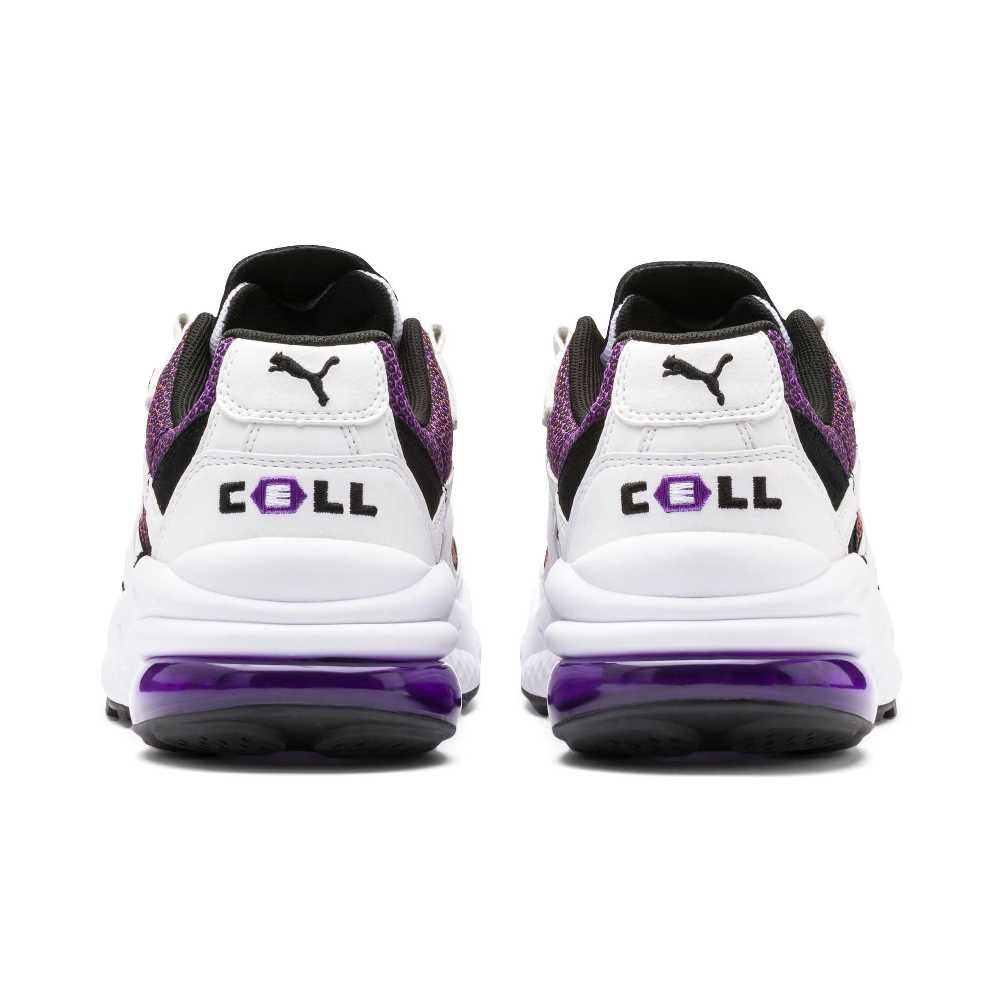 Thumbnail 4 of CELL Venom Lux Sneaker, Puma White-Purple Glimmer, medium