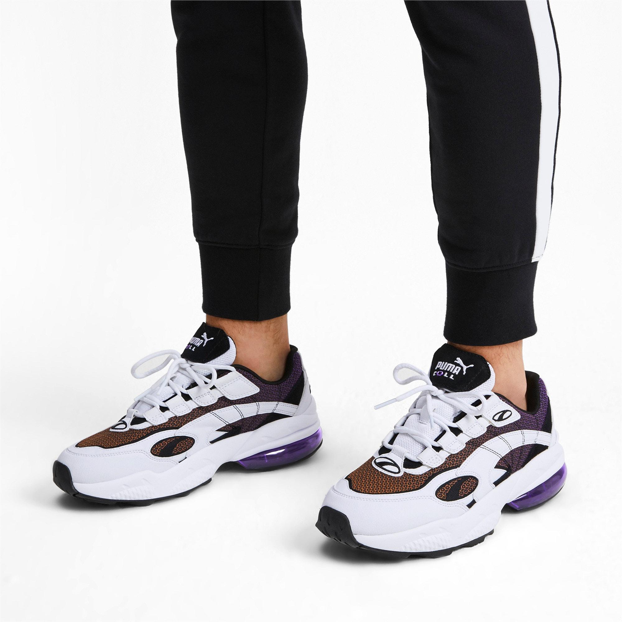 Thumbnail 2 of CELL Venom Lux Sneaker, Puma White-Purple Glimmer, medium