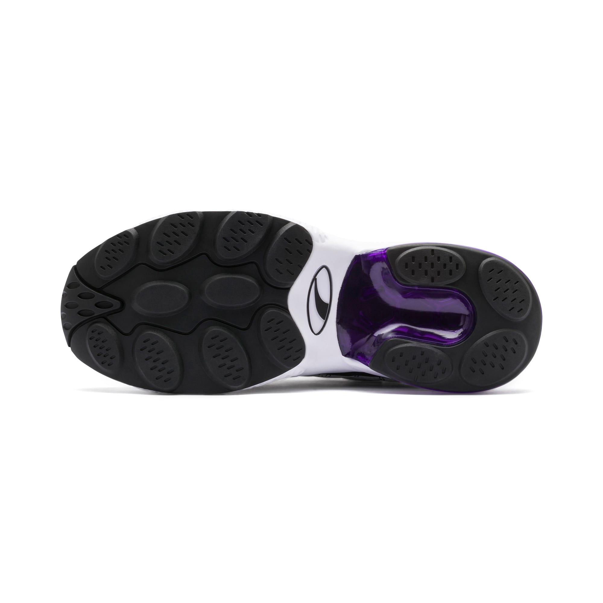 Thumbnail 5 of CELL Venom Lux Sneaker, Puma White-Purple Glimmer, medium