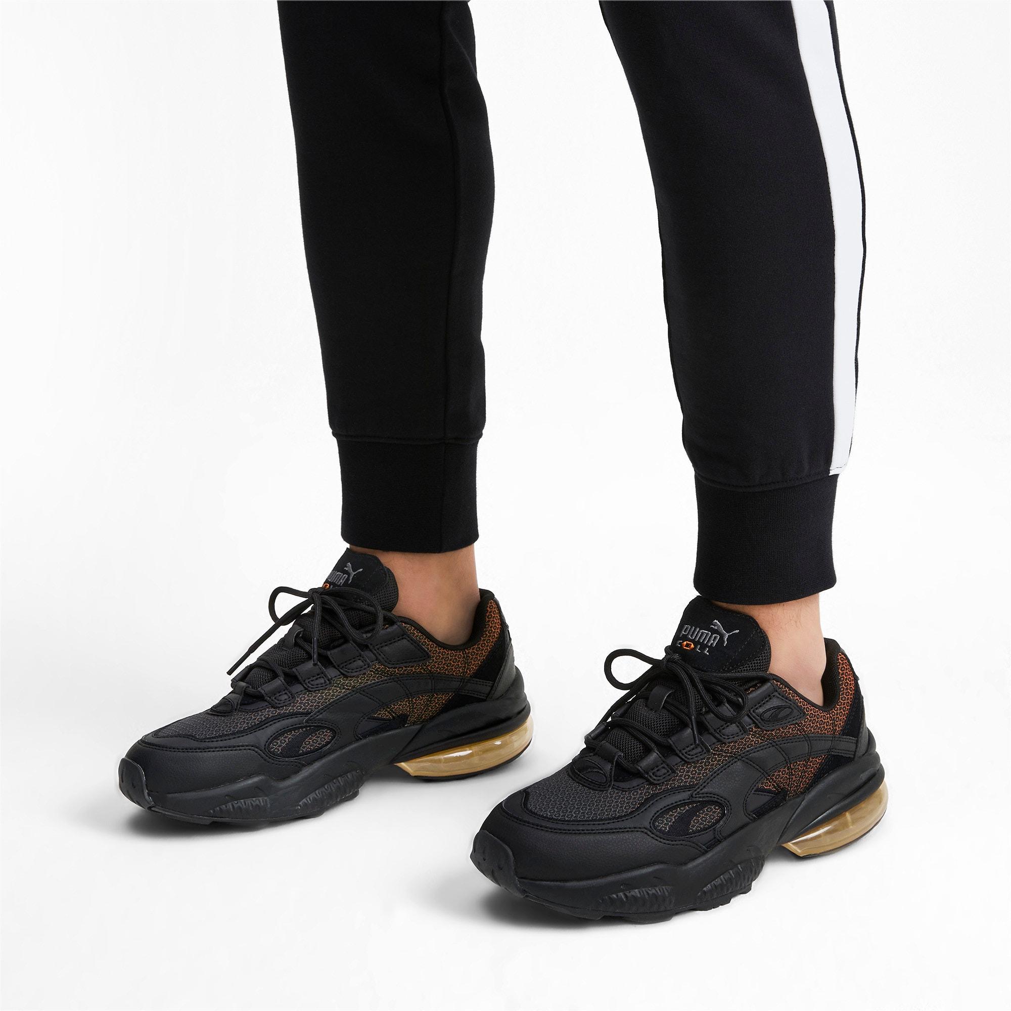 Thumbnail 2 of CELL Venom Lux Sneaker, Puma Black-Jaffa Orange, medium
