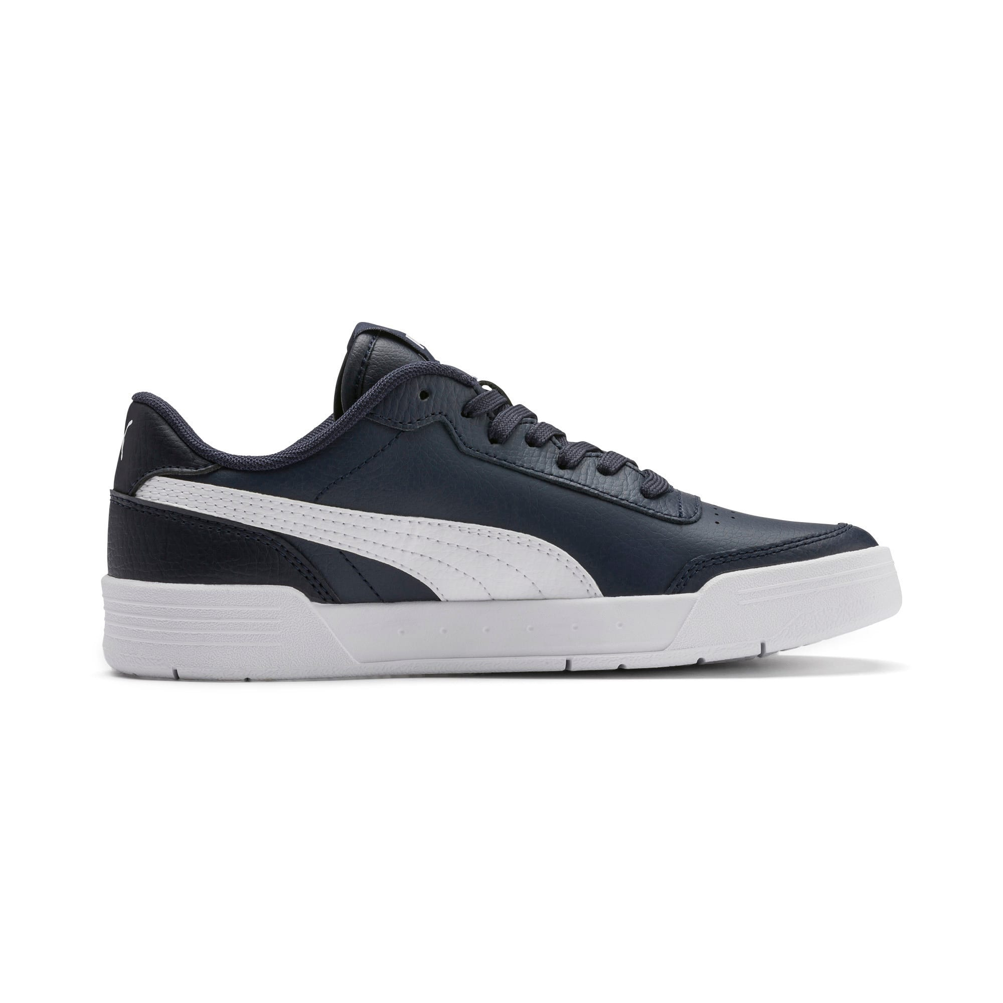 Thumbnail 5 of Caracal Youth Trainers, Peacoat-P. White-Puma Silver, medium-IND