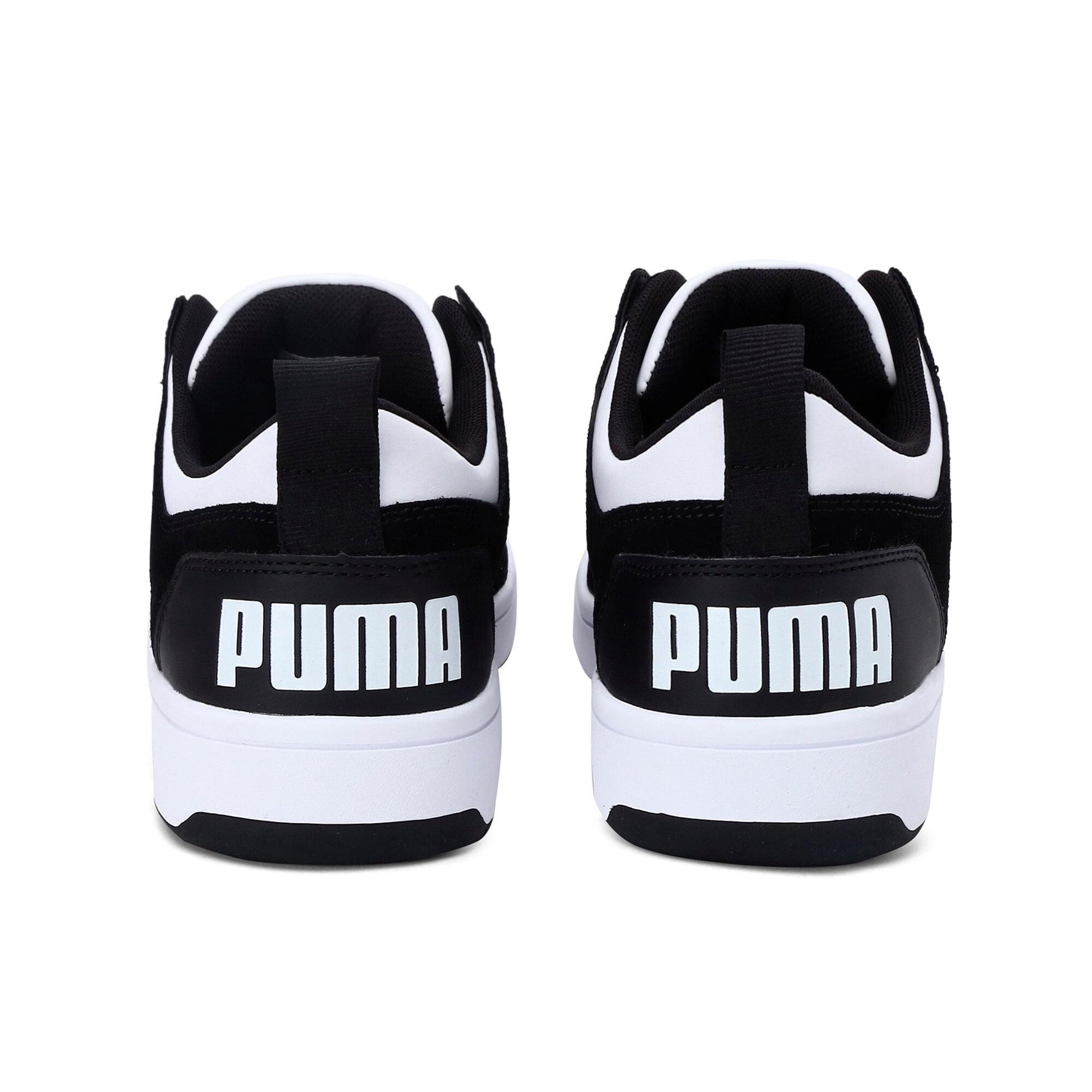 Thumbnail 4 of Rebound Lay-Up Lo SD Trainers, Puma Black-Puma White, medium-IND