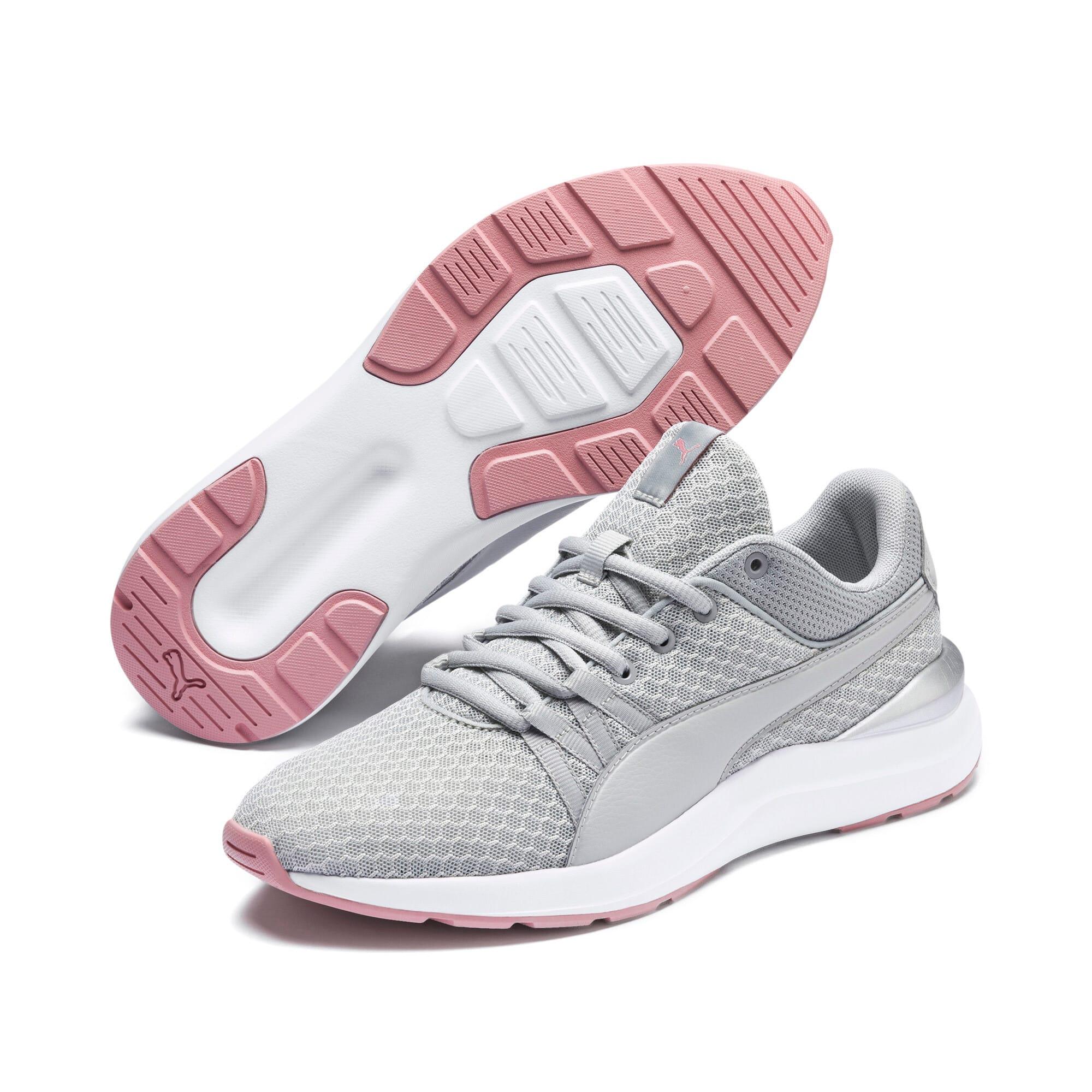 Thumbnail 3 of Adela Core Women's Sneakers, Gray Violet-Puma Silver, medium