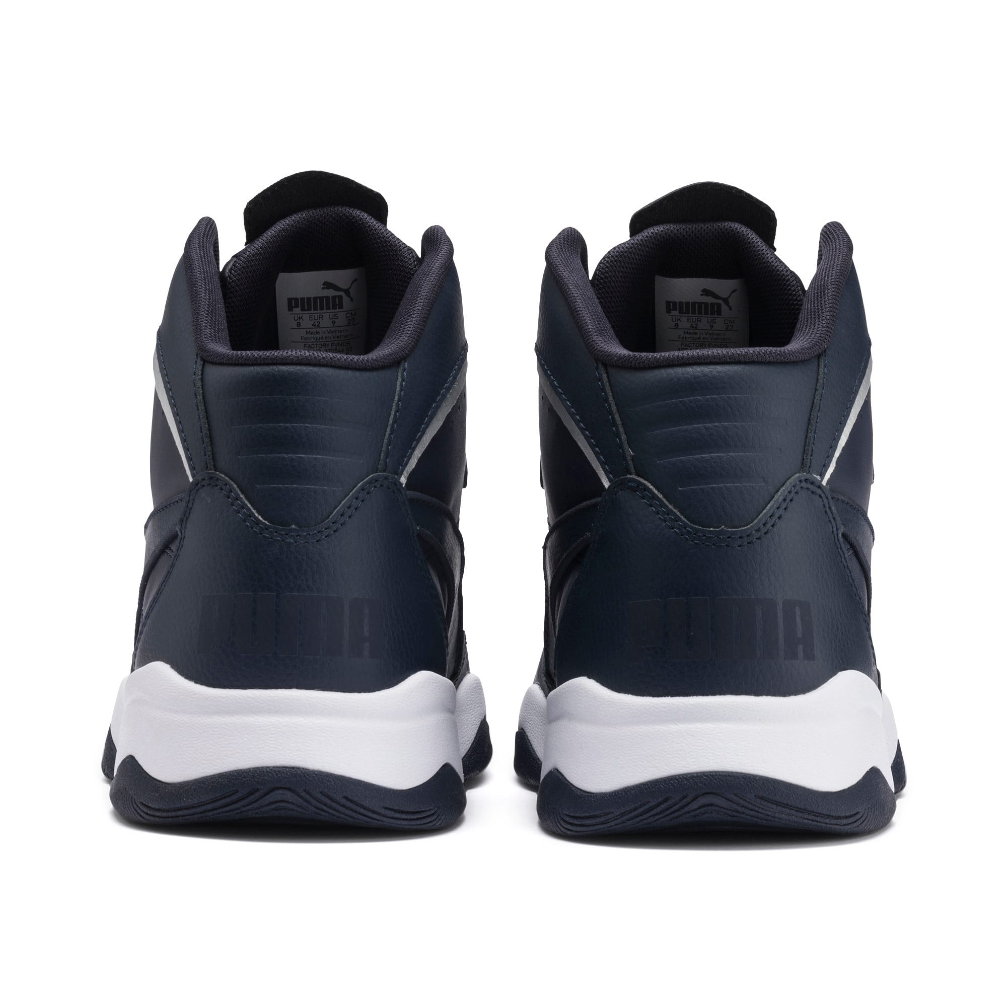 Thumbnail 5 of RB Play-Off Trainers, Peacoat-Puma Silver, medium-IND