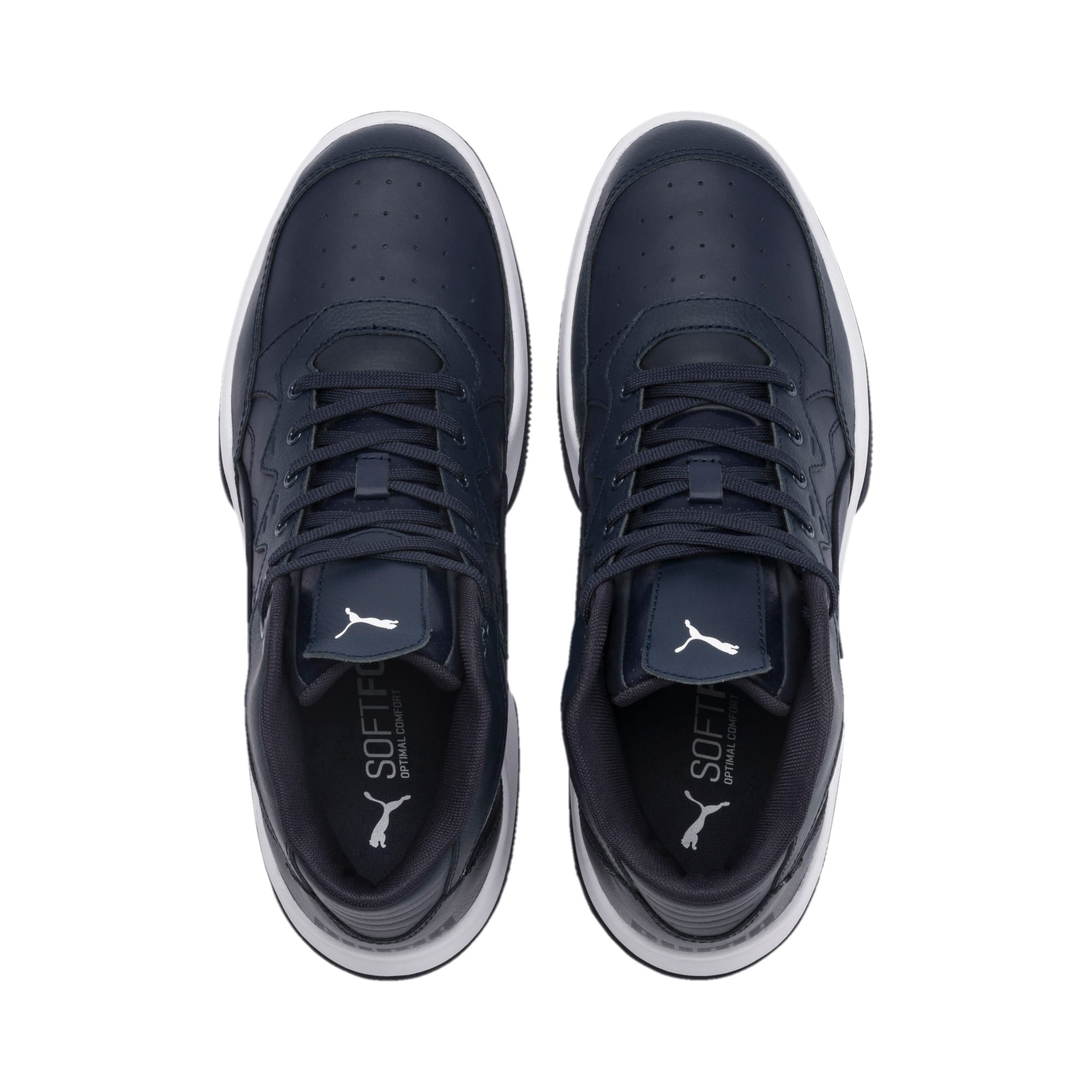 Thumbnail 8 of RB Play-Off Trainers, Peacoat-Puma Silver, medium-IND